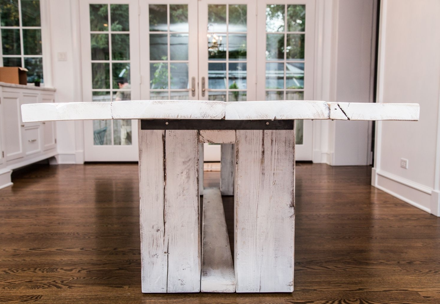 2018 French Farmhouse Dining Tables Within Hand Crafted French Farm Dining Table, French Country Table (View 3 of 25)
