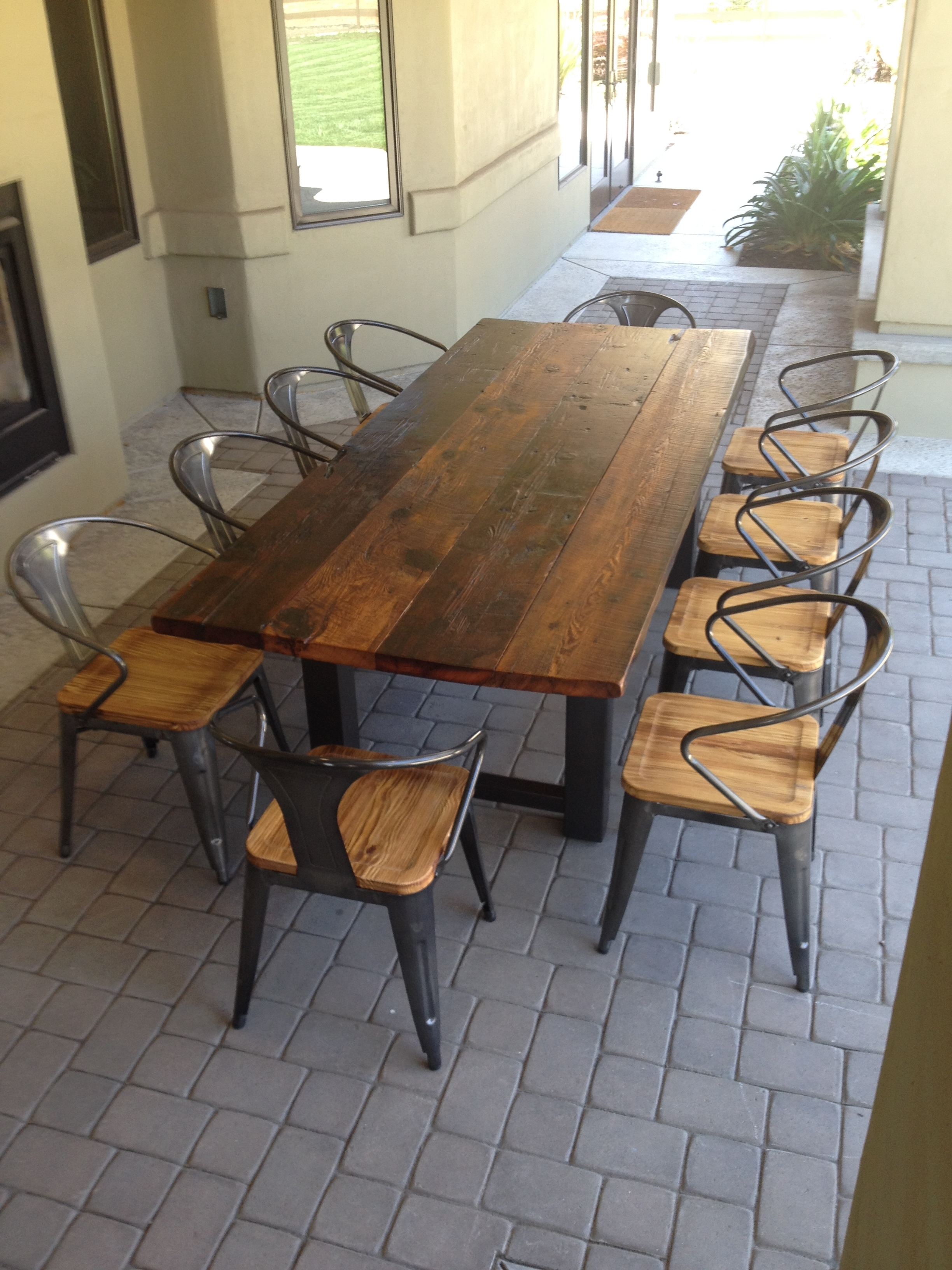 2018 Garden Dining Tables And Chairs throughout Garden Dining Tables - Ujecdent