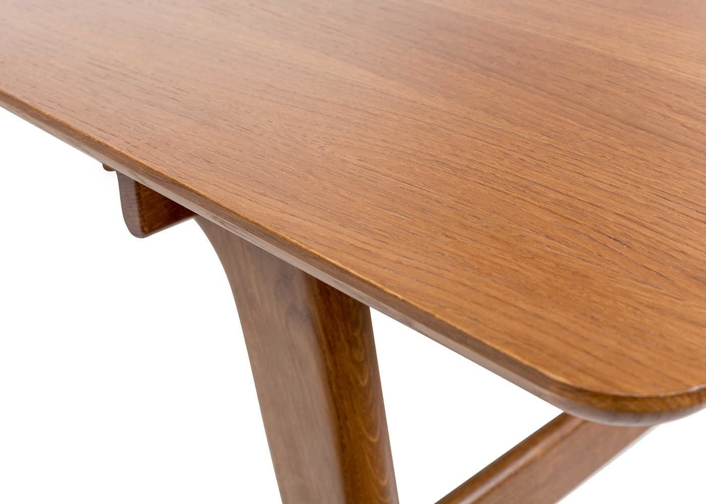 2018 Heal's Blake Dining Table Extending Oak Dark Stained (View 8 of 25)