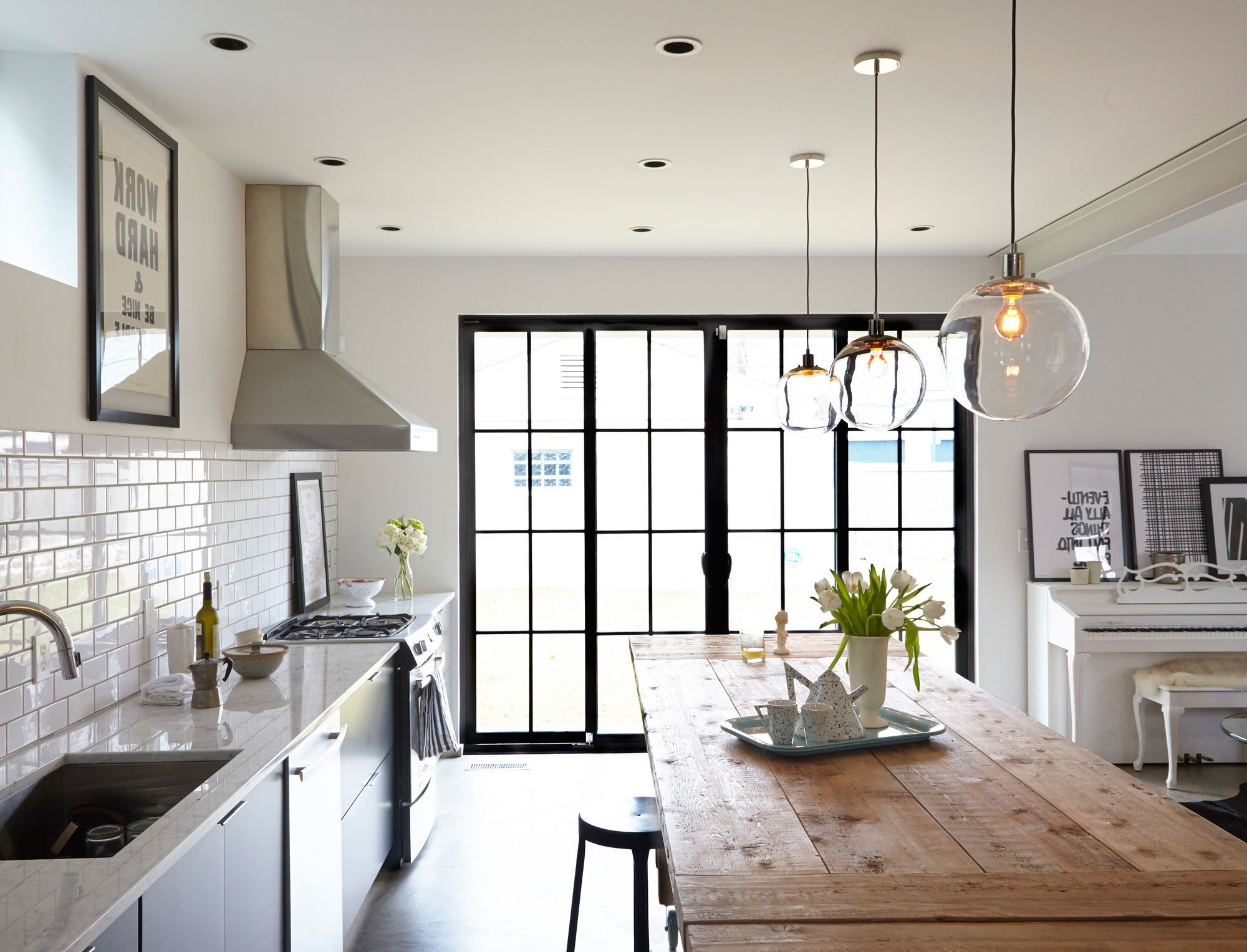 2018 Image 8452 From Post: Globe Pendant Lights Over Island – With 4 With Regard To Over Dining Tables Lights (Gallery 25 of 25)