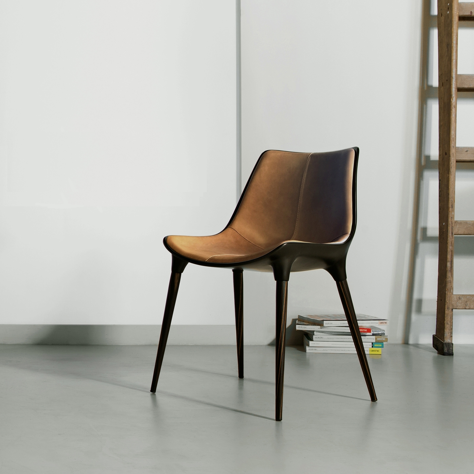 2018 Langham Dining Chair In Leather – Bimma Loft Regarding Dining Chairs (View 11 of 25)