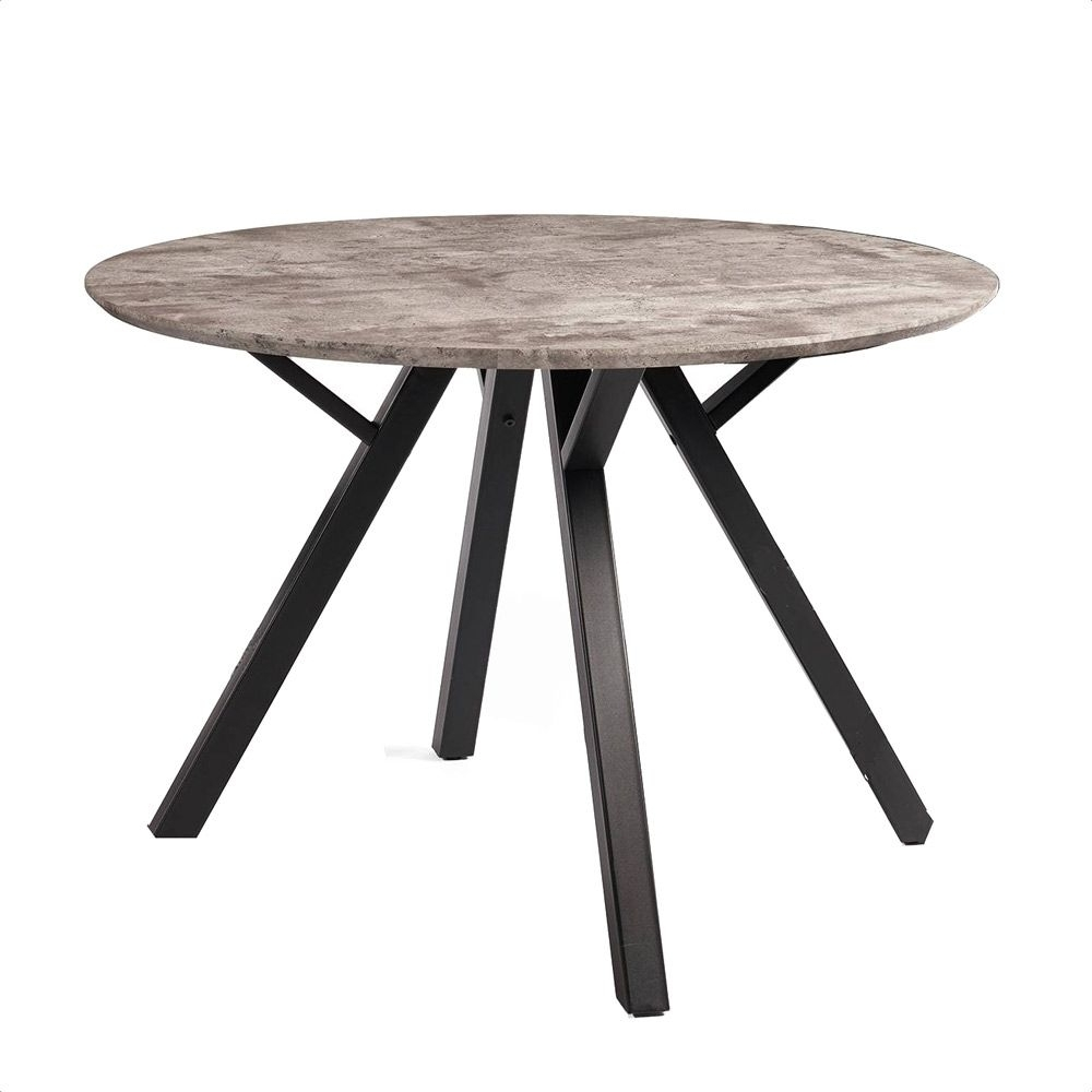 2018 Laurent Round Dining Tables within Trento Round Dining Table
