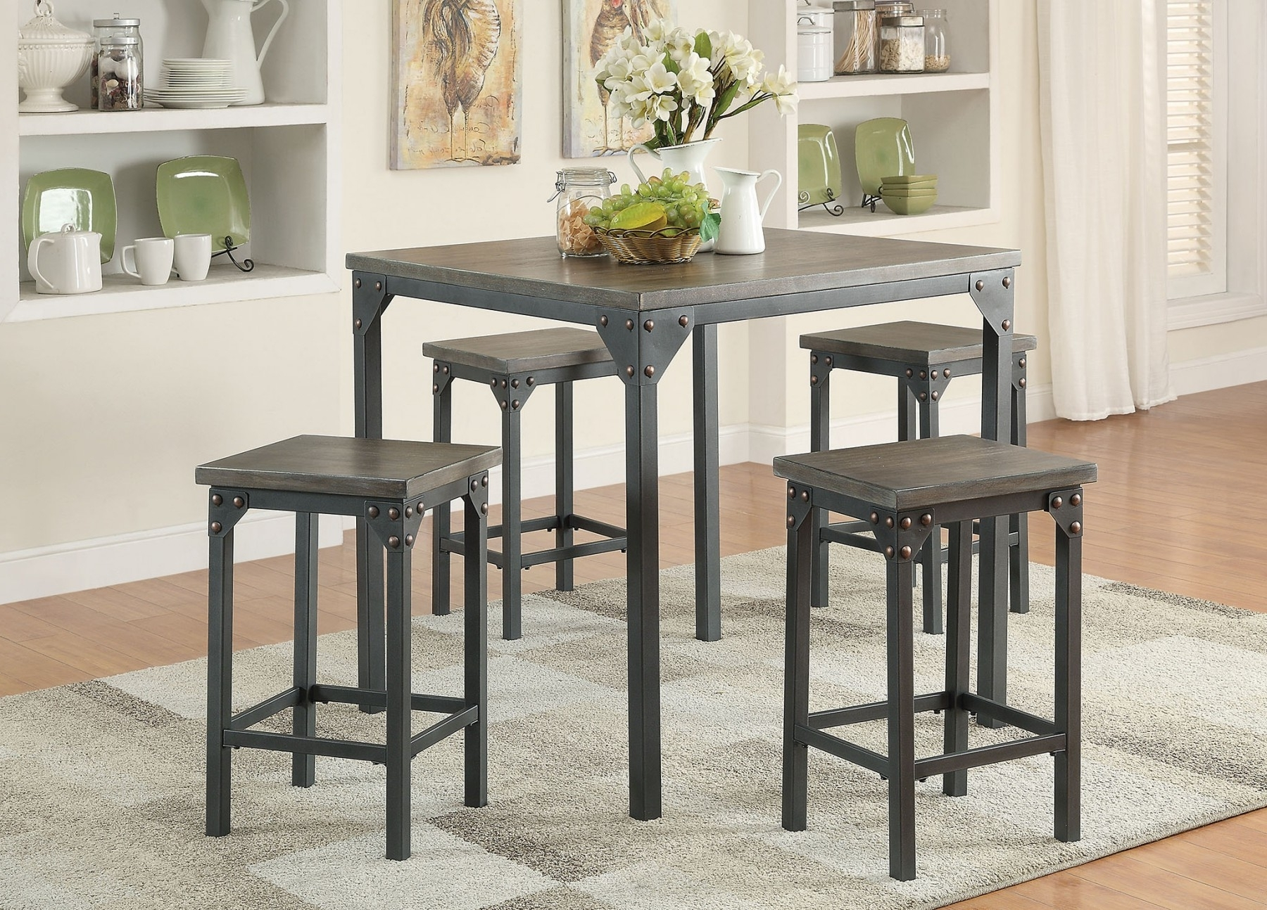 2018 May Dinette 2017 — Luthersales Inside Pierce 5 Piece Counter Sets (View 2 of 25)