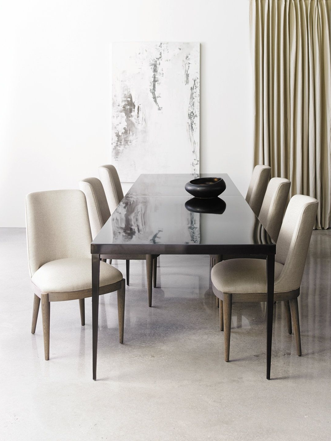 2018 Metro Dining Tables In Rectangular Modern Metro Dining Table (View 2 of 25)