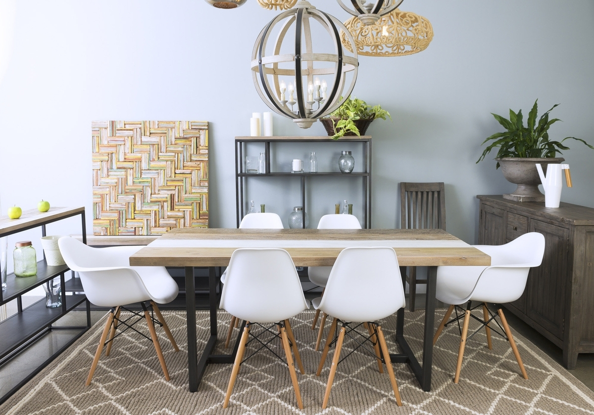 2018 Metro Dining Tables Within Metro Havana Dining Set (Gallery 14 of 25)