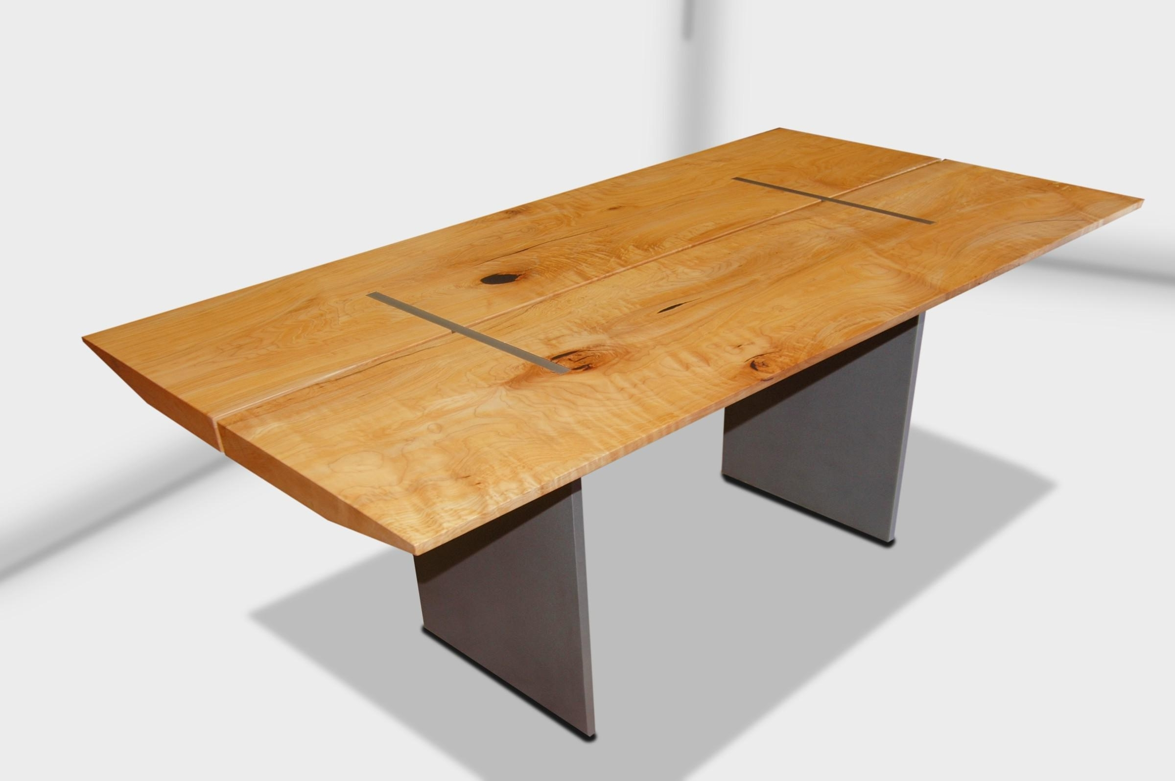 2018 Metro Slab Wood Dining Table Made In Canada For Metro Dining Tables (Gallery 1 of 25)