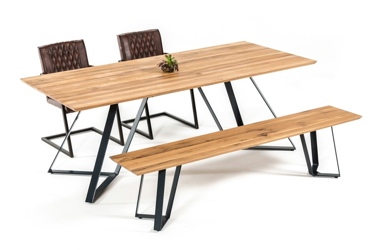 2018 Nova Domus Pisa Modern Drift Oak Dining Table Inside Pisa Dining Tables (View 1 of 25)