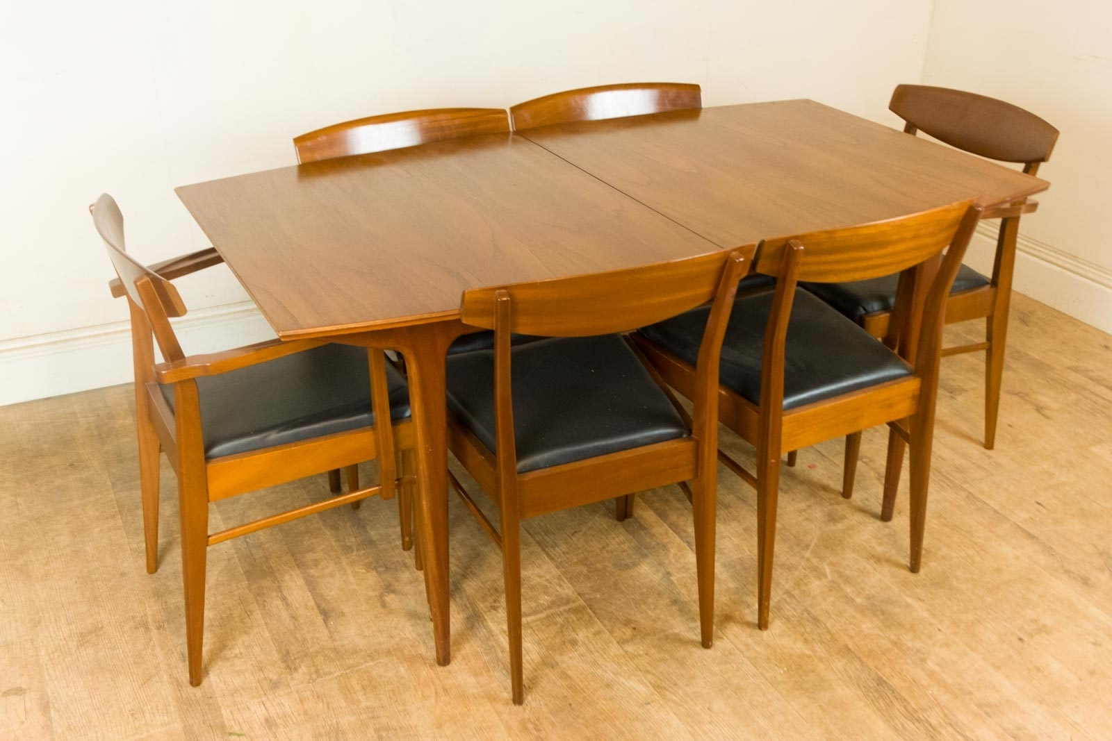 2018 Retro Extending Dining Tables In Vintage Retro Mid Century Teak Extending Dining Table And Formal (Gallery 18 of 25)
