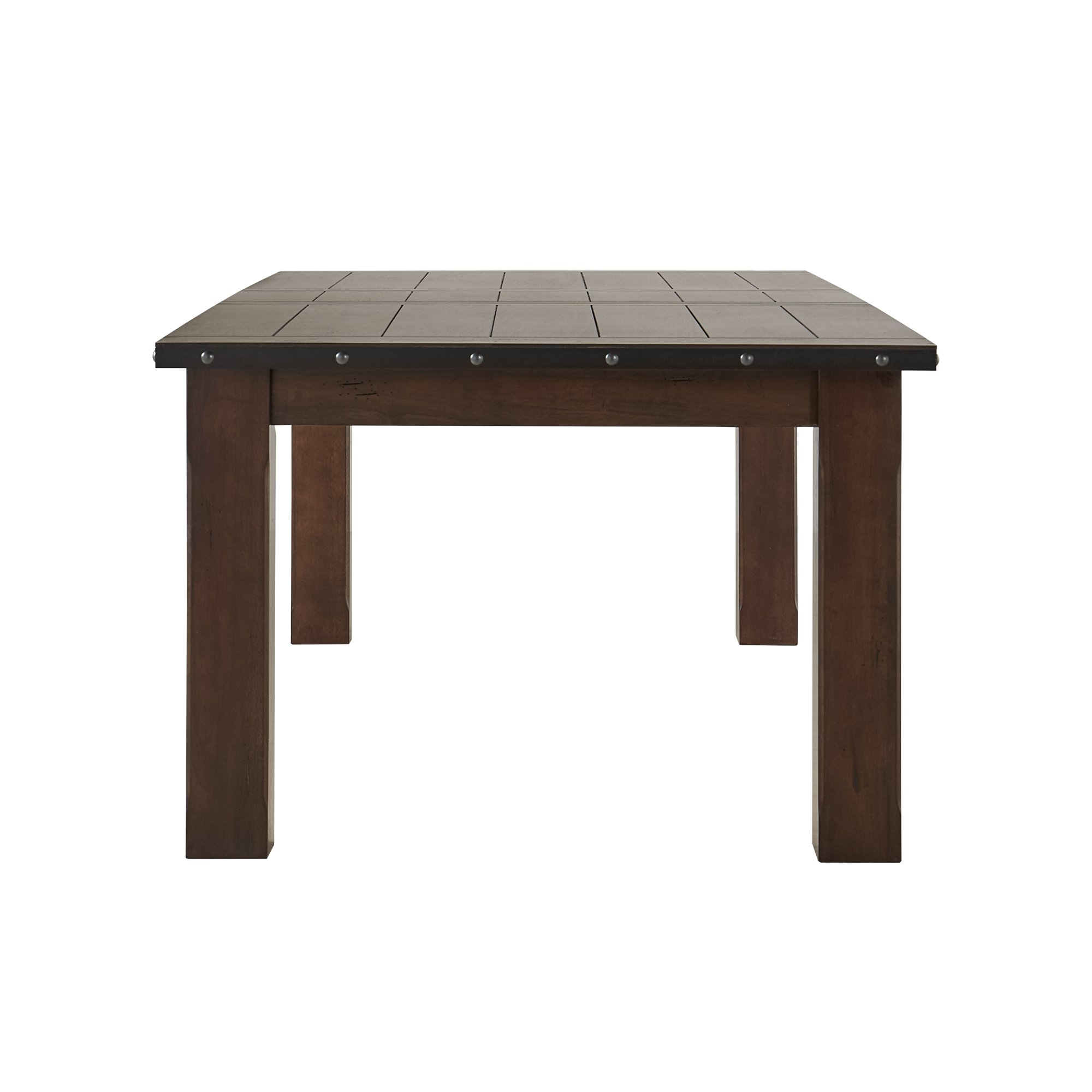 2018 Shop Norwood Antique Oak Finish Extending Table Dining Set - Free within Norwood Rectangle Extension Dining Tables