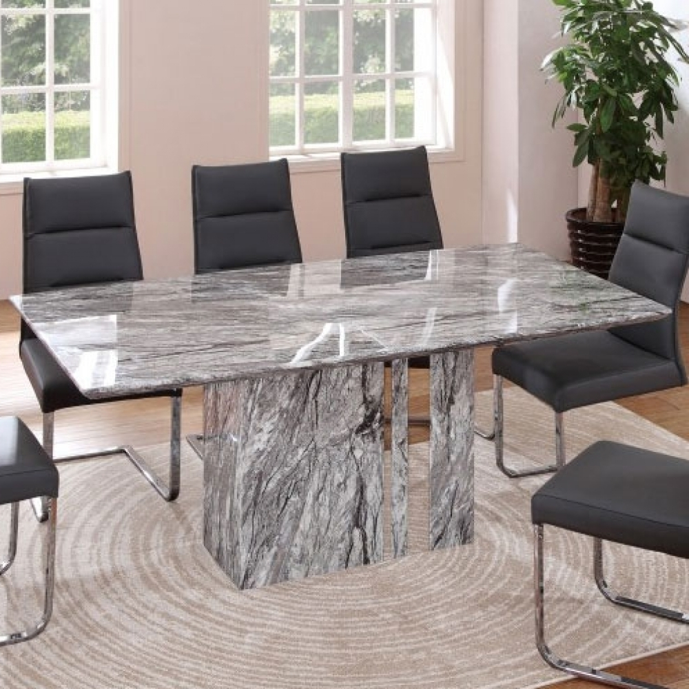 2018 Solid Marble Dining Tables Intended For Solid Marble Dining Table (Gallery 10 of 25)