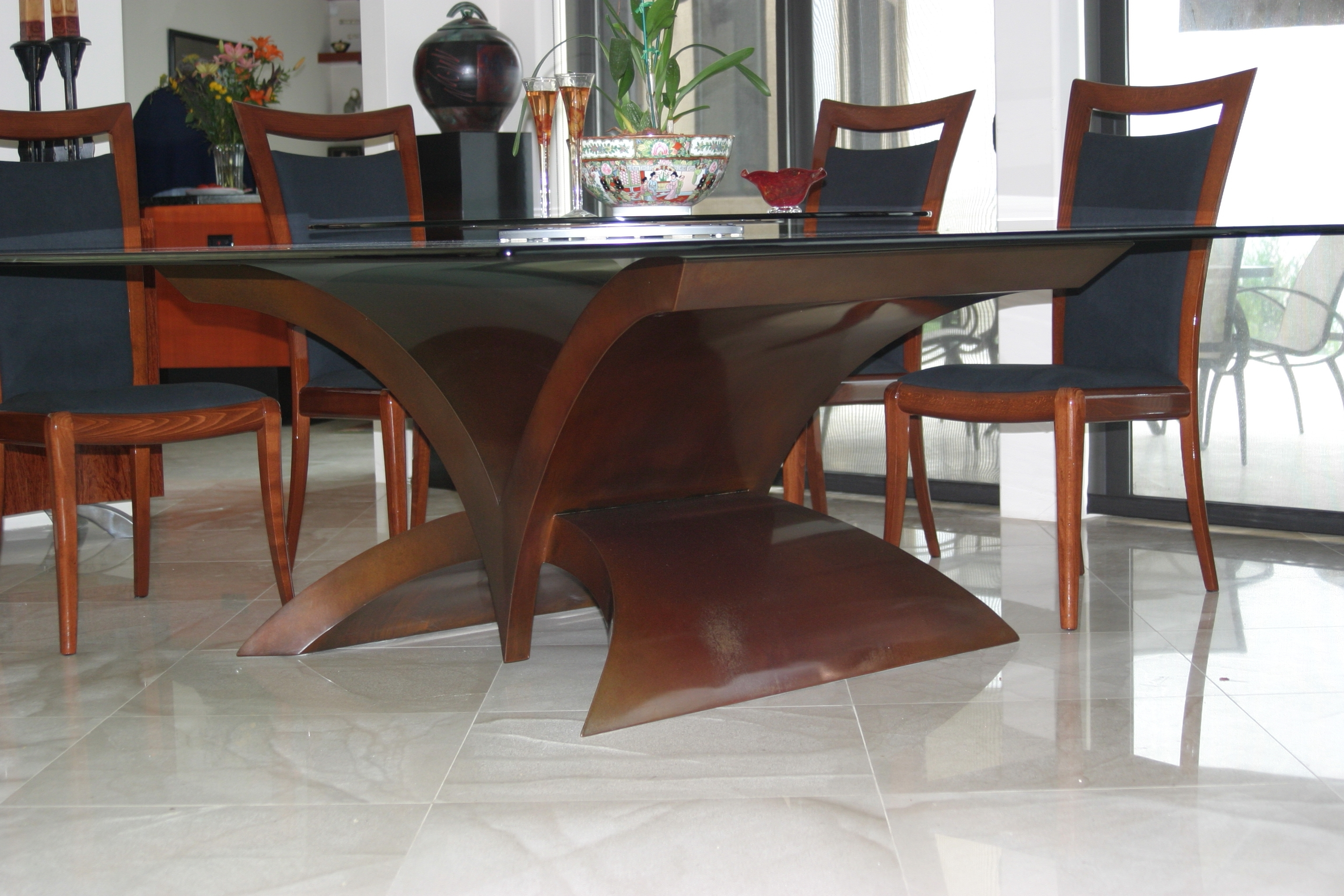 2018 Tables & Bases - Gillberg Design Inc for Contemporary Base Dining Tables