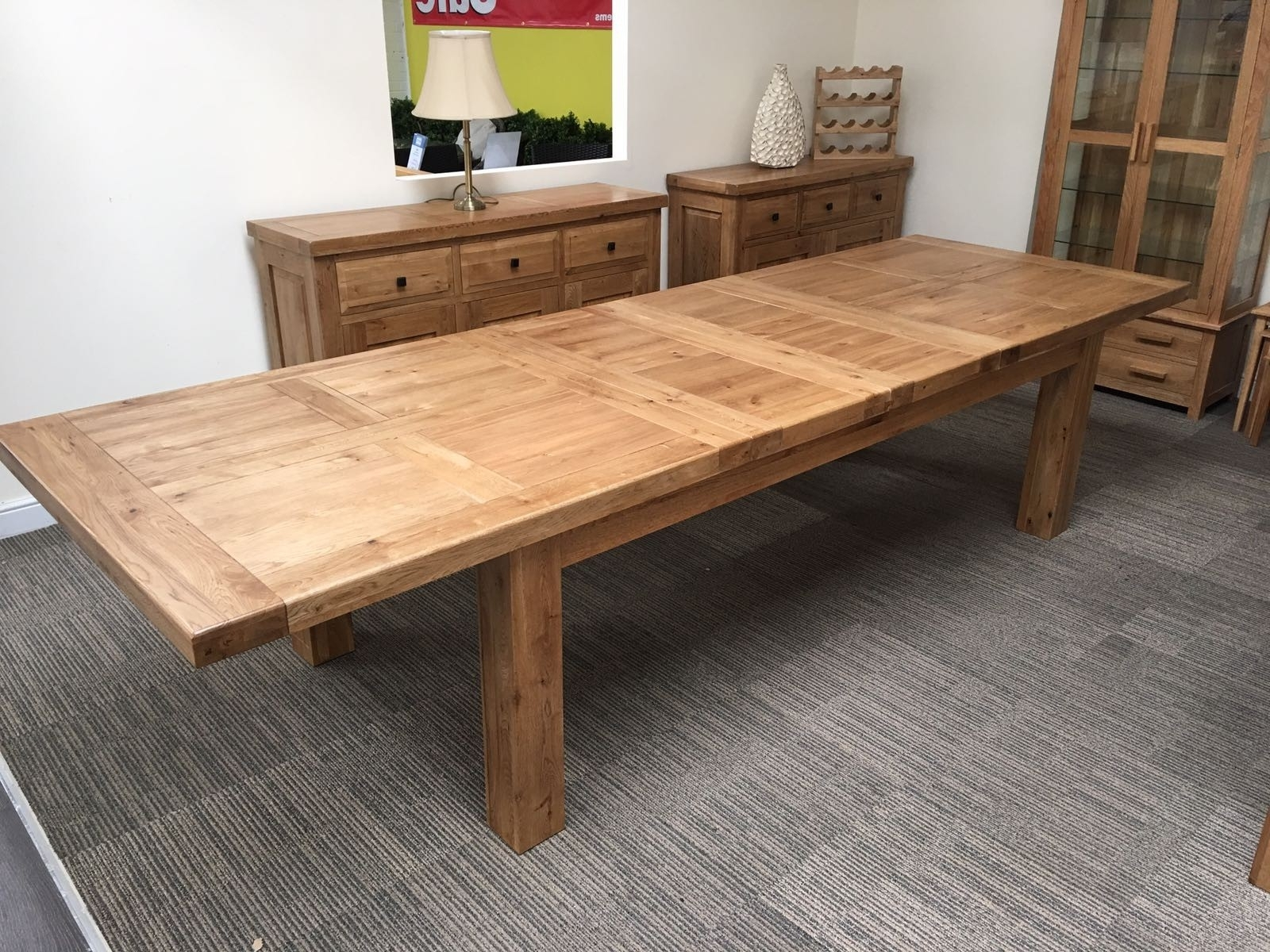 2018 The Making Of The Solid Wood Dining Table – Home Decor Ideas Throughout Extending Oak Dining Tables (View 2 of 25)