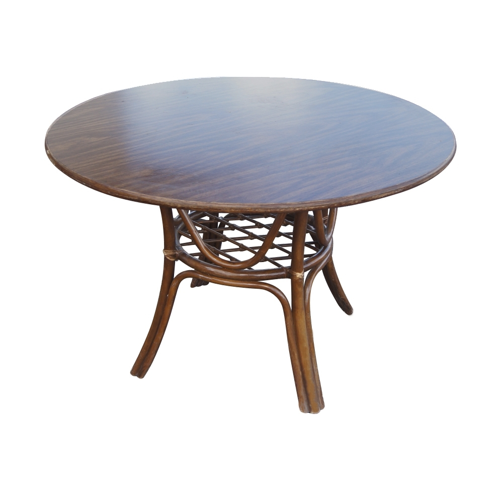 2018 Vintage Rattan Dining Table And Chairs Ebay Upholstered Dining Pertaining To Dining Chairs Ebay (Gallery 9 of 25)