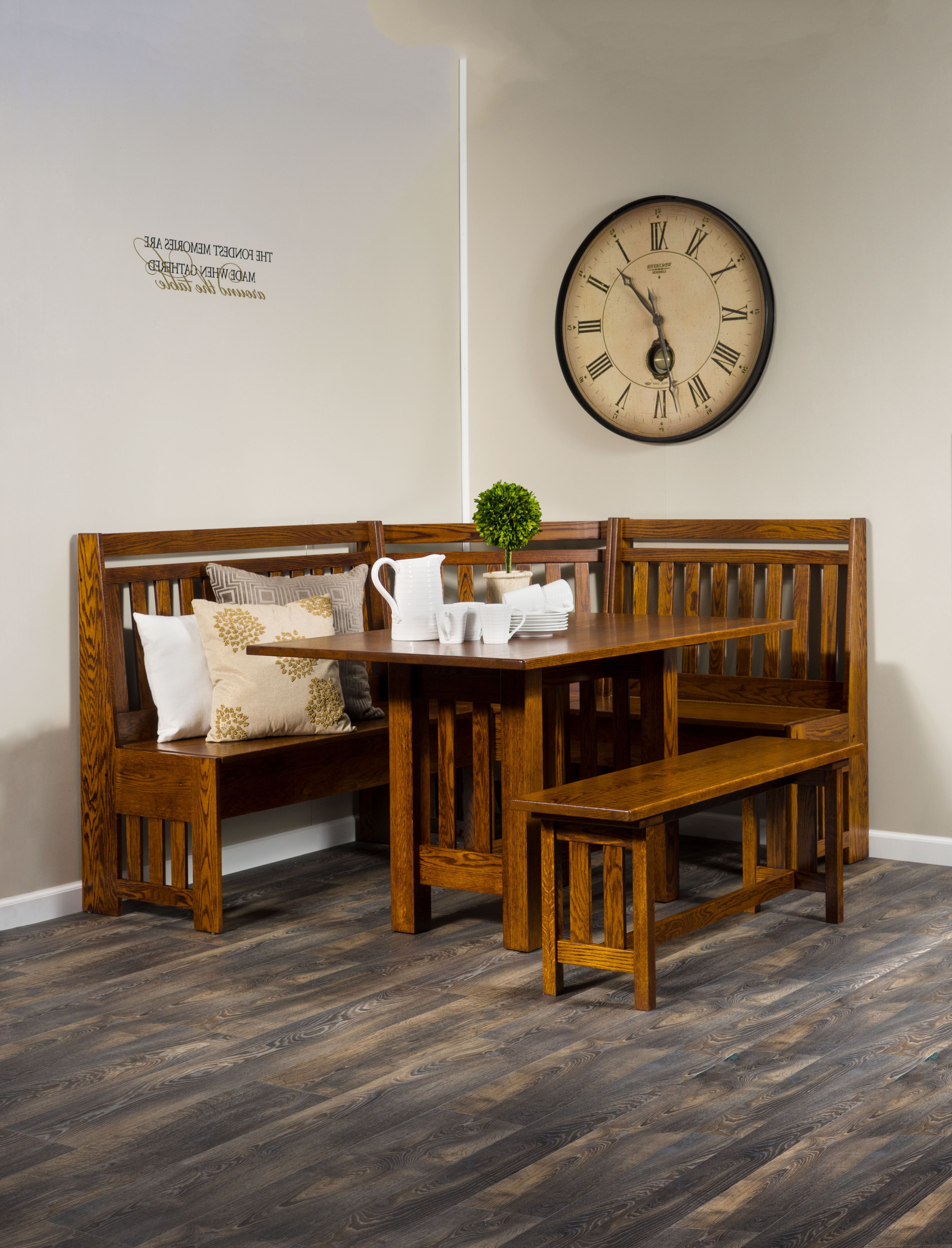 2018 Weaver Ii Dining Tables Intended For A Beautiful Dining Nook Is A Charming Addition To Any Breakfast Or (View 12 of 25)