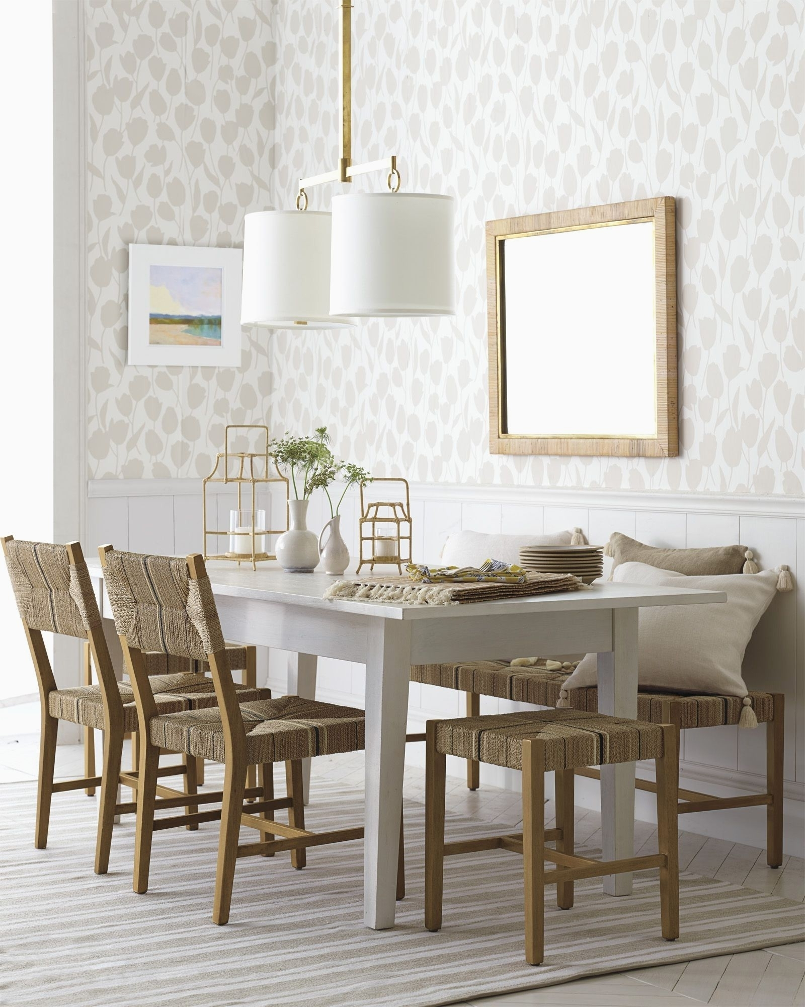 29 New Hollywood Swank Dining Table - Welovedandelion for Fashionable Non Wood Dining Tables