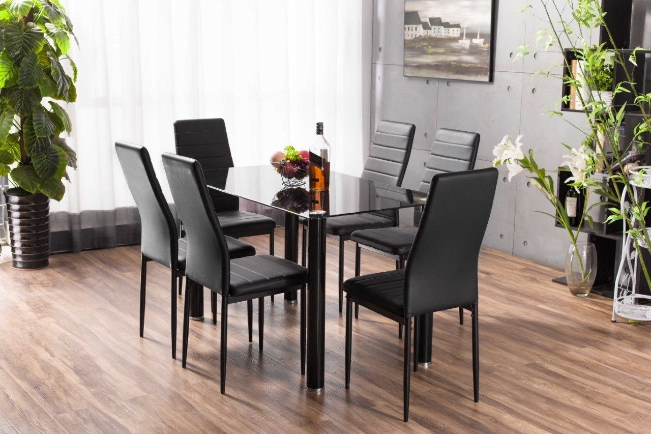 30 Dining Table Set 6 Chairs, Dining Room Table With 6 Chairs intended for Most Current Dining Tables With 6 Chairs