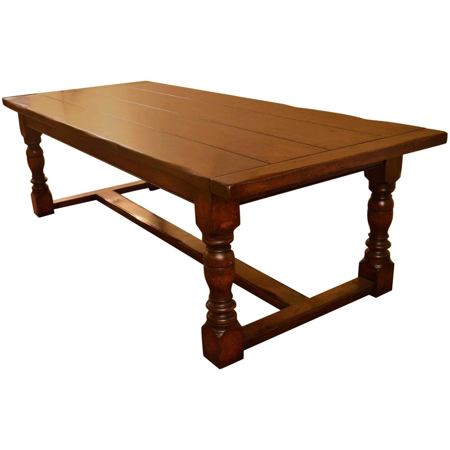 3Ft Dining Tables with regard to Trendy Vintage English Solid Oak Refectory Dining Table 8 Ft 6 X 3Ft At 1Stdibs