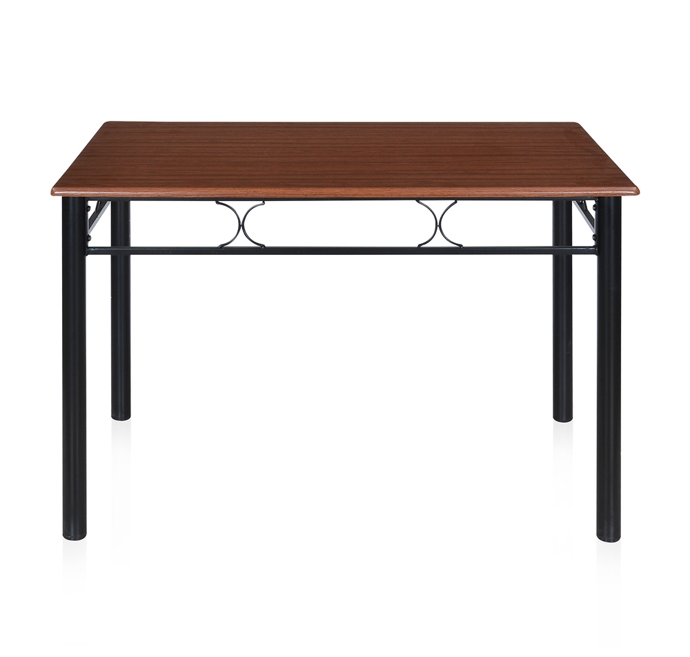 4 Seat Dining Tables In Current Buy Sidney 4 Seater Dining Table – @homenilkamal, Black Online (Gallery 19 of 25)