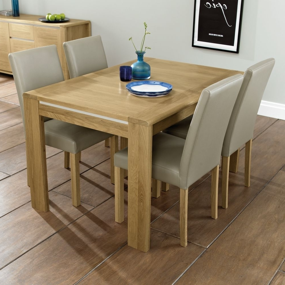 4 Seater Extendable Dining Tables for Most Current 4-6 Seater Dining Table - Keens Furniture