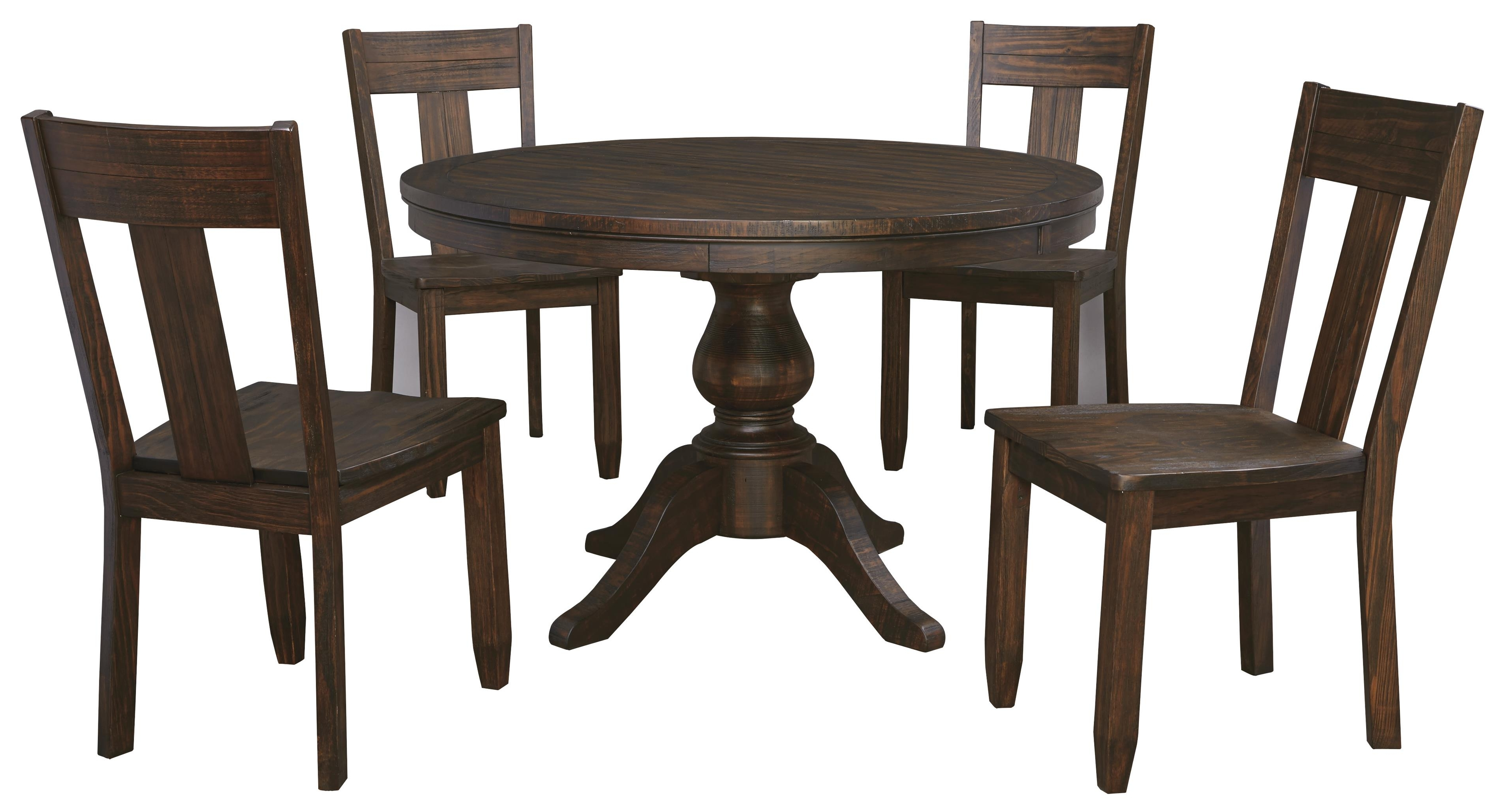 5 Piece Round Dining Table Set – Castrophotos Pertaining To Latest Macie 5 Piece Round Dining Sets (View 6 of 25)