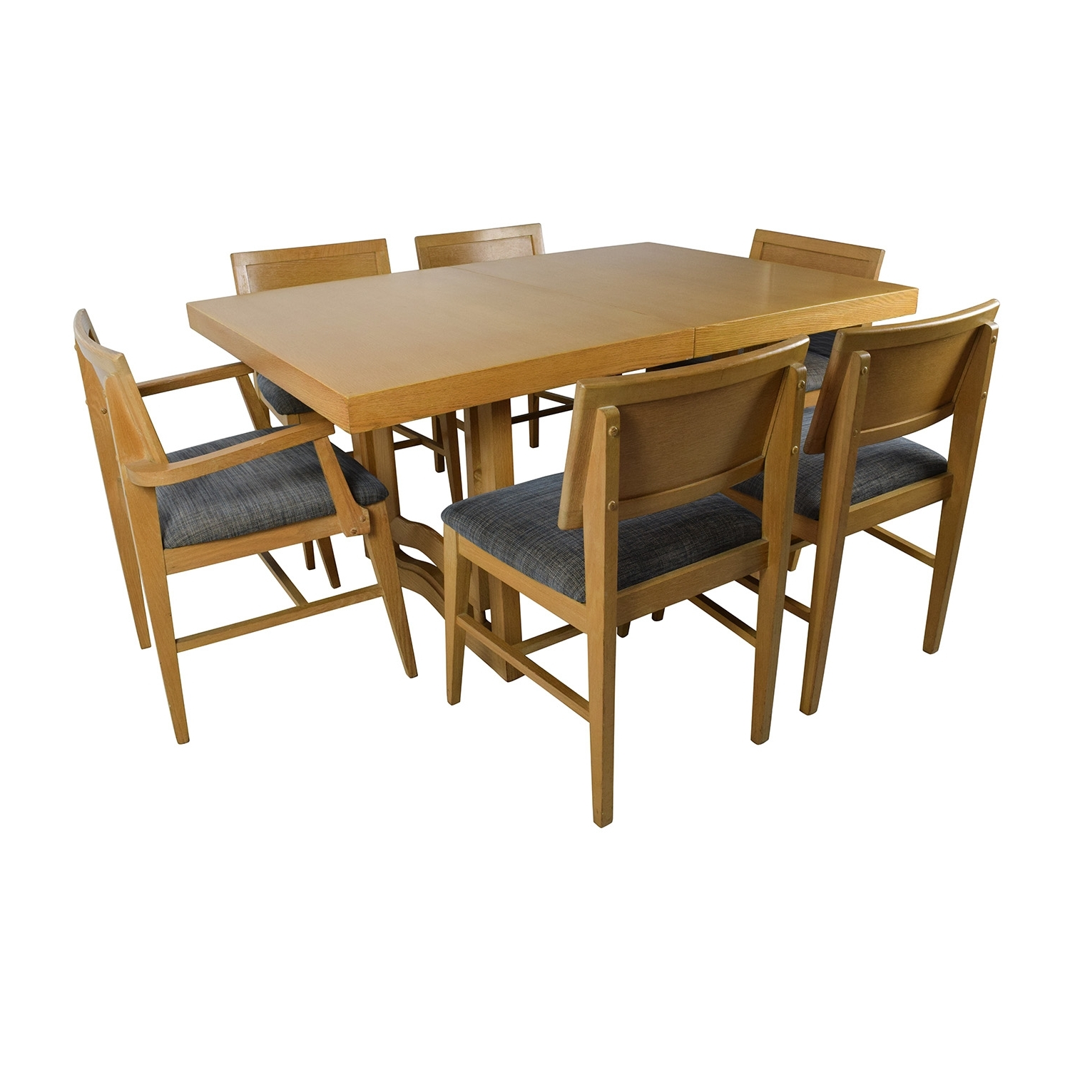 [%59% Off – Mid Century Extension Dining Table And Six Chairs / Tables Throughout Well Known Dining Tables For Six Dining Tables For Six Intended For Widely Used 59% Off – Mid Century Extension Dining Table And Six Chairs / Tables Fashionable Dining Tables For Six Pertaining To 59% Off – Mid Century Extension Dining Table And Six Chairs / Tables Preferred 59% Off – Mid Century Extension Dining Table And Six Chairs / Tables Pertaining To Dining Tables For Six%] (View 22 of 25)