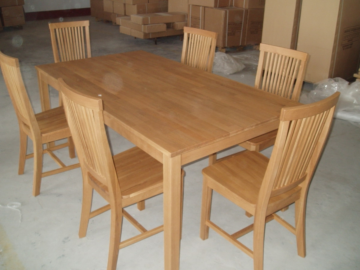6 Chair Dining Room Set Chairs Photo Most Comfortable Dining Chairs within Most Up-to-Date Dining Tables And Six Chairs