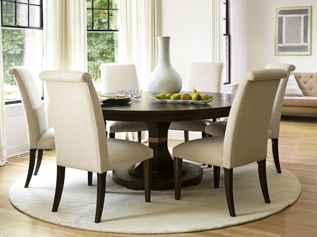6 Seat Round Dining Tables In Popular 6 Seat Dining Table And Chairs — Cento Ventesimo Decor : Options For (View 23 of 25)