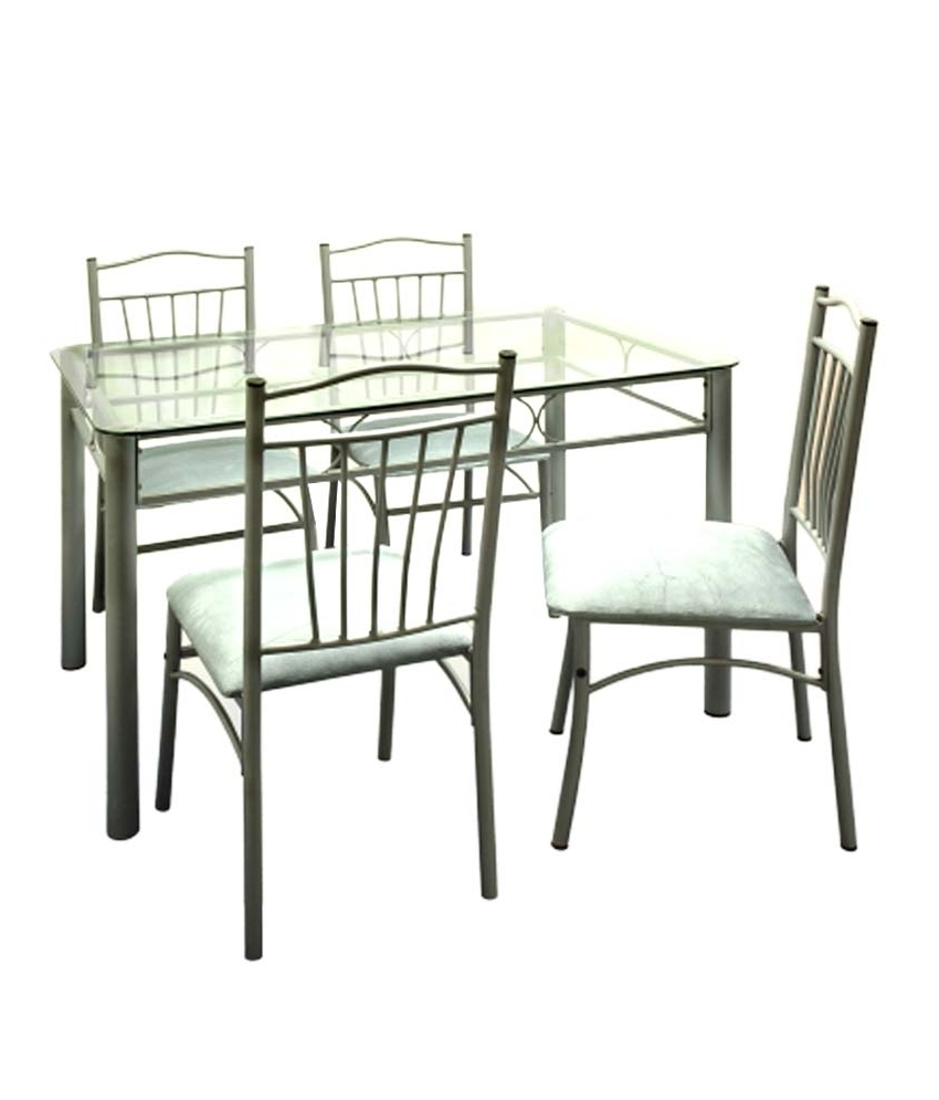 6 Seater Glass Dining Table Sets With Recent Dining Table Set 6 Seater Under 10000 • Table Setting Ideas (View 7 of 25)