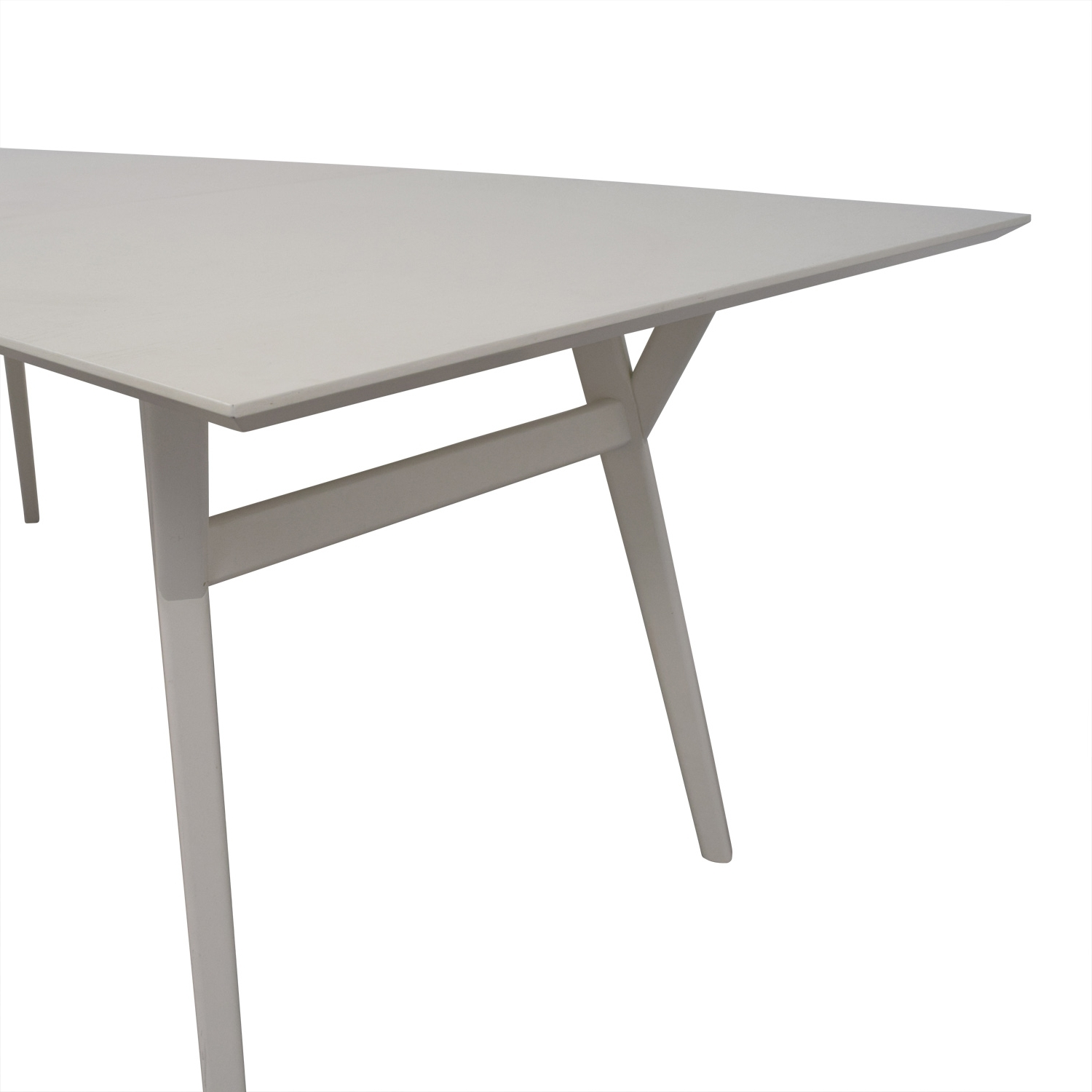 [%61% Off – West Elm West Elm Mid Century White Expandable Dining With Regard To Most Recent White Square Extending Dining Tables|White Square Extending Dining Tables Regarding Current 61% Off – West Elm West Elm Mid Century White Expandable Dining|Best And Newest White Square Extending Dining Tables Intended For 61% Off – West Elm West Elm Mid Century White Expandable Dining|Newest 61% Off – West Elm West Elm Mid Century White Expandable Dining Pertaining To White Square Extending Dining Tables%] (View 1 of 25)