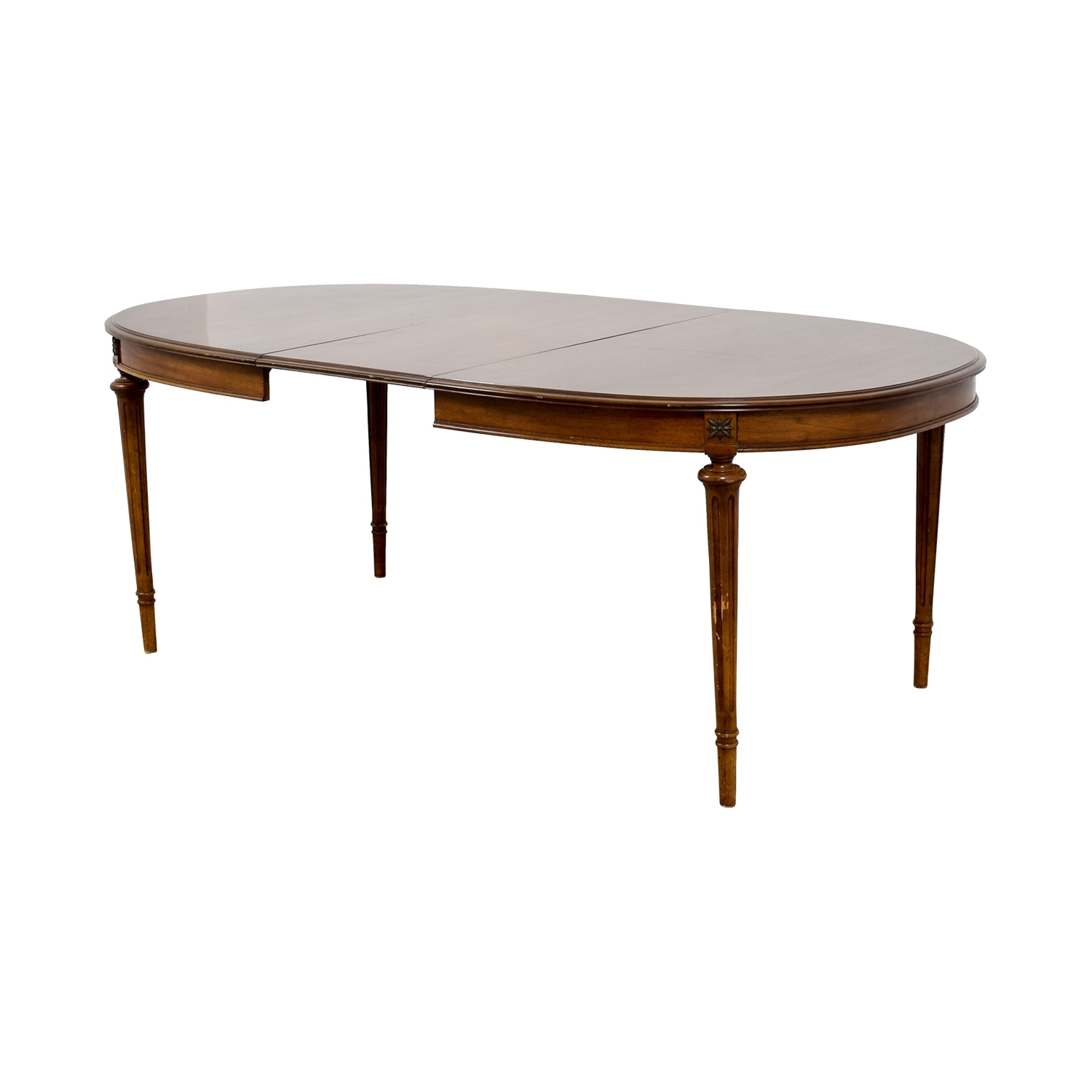 [%64% Off – Wood Extendable Oval Dining Table / Tables In Current Oval Dining Tables For Sale|Oval Dining Tables For Sale In Well Known 64% Off – Wood Extendable Oval Dining Table / Tables|Recent Oval Dining Tables For Sale Pertaining To 64% Off – Wood Extendable Oval Dining Table / Tables|Trendy 64% Off – Wood Extendable Oval Dining Table / Tables With Regard To Oval Dining Tables For Sale%] (View 10 of 25)
