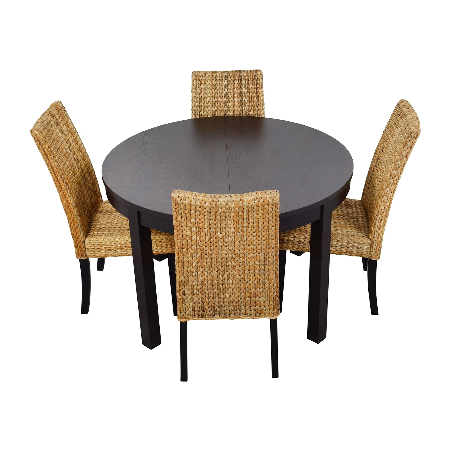 [%66% Off – Macy's & Ikea Round Black Dining Table Set With Four Inside Fashionable Ikea Round Dining Tables Set|Ikea Round Dining Tables Set With Newest 66% Off – Macy's & Ikea Round Black Dining Table Set With Four|Fashionable Ikea Round Dining Tables Set Within 66% Off – Macy's & Ikea Round Black Dining Table Set With Four|2018 66% Off – Macy's & Ikea Round Black Dining Table Set With Four With Regard To Ikea Round Dining Tables Set%] (View 3 of 25)