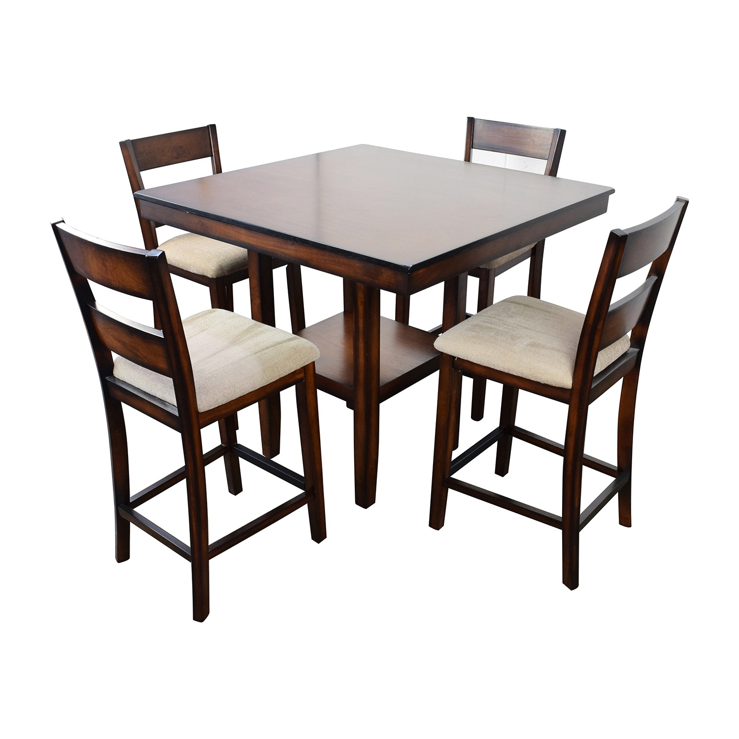 [%66% Off – Macy's Macy's Branton 5 Pc. Counter Height Dining Set / Tables Pertaining To Preferred Macie 5 Piece Round Dining Sets|Macie 5 Piece Round Dining Sets Throughout Latest 66% Off – Macy's Macy's Branton 5 Pc. Counter Height Dining Set / Tables|Trendy Macie 5 Piece Round Dining Sets Regarding 66% Off – Macy's Macy's Branton 5 Pc. Counter Height Dining Set / Tables|Most Current 66% Off – Macy's Macy's Branton 5 Pc (View 1 of 25)