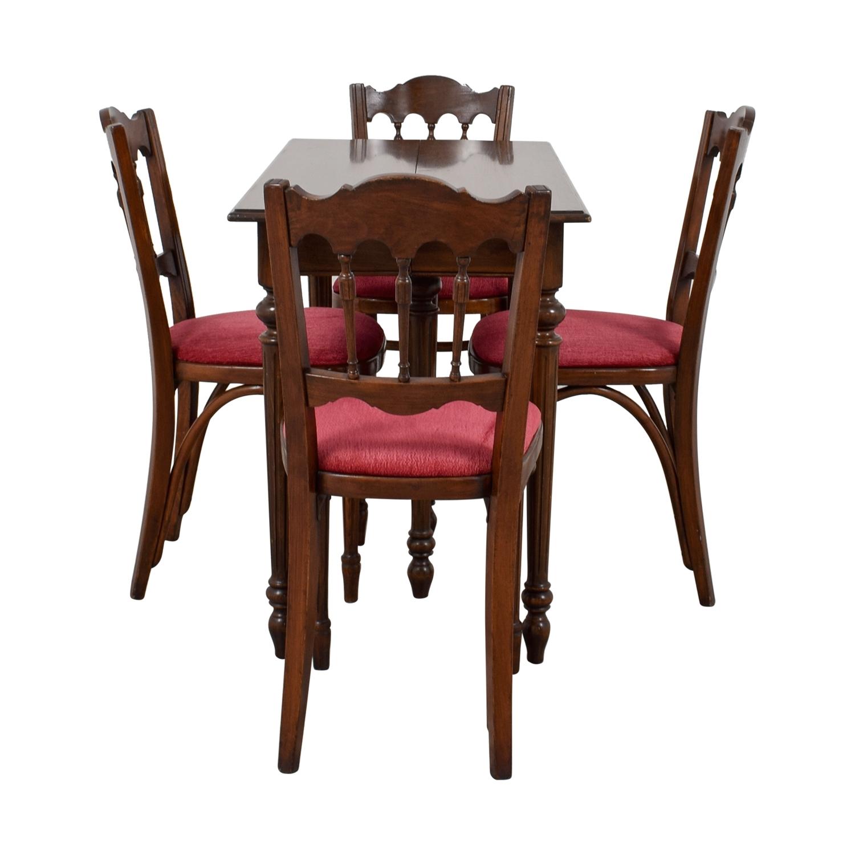 [%67% Off – Vinatage Mahogany Dining Table Set / Tables Intended For Well Known Mahogany Dining Tables Sets|Mahogany Dining Tables Sets Within Well Liked 67% Off – Vinatage Mahogany Dining Table Set / Tables|Well Known Mahogany Dining Tables Sets In 67% Off – Vinatage Mahogany Dining Table Set / Tables|Well Known 67% Off – Vinatage Mahogany Dining Table Set / Tables Inside Mahogany Dining Tables Sets%] (View 1 of 25)