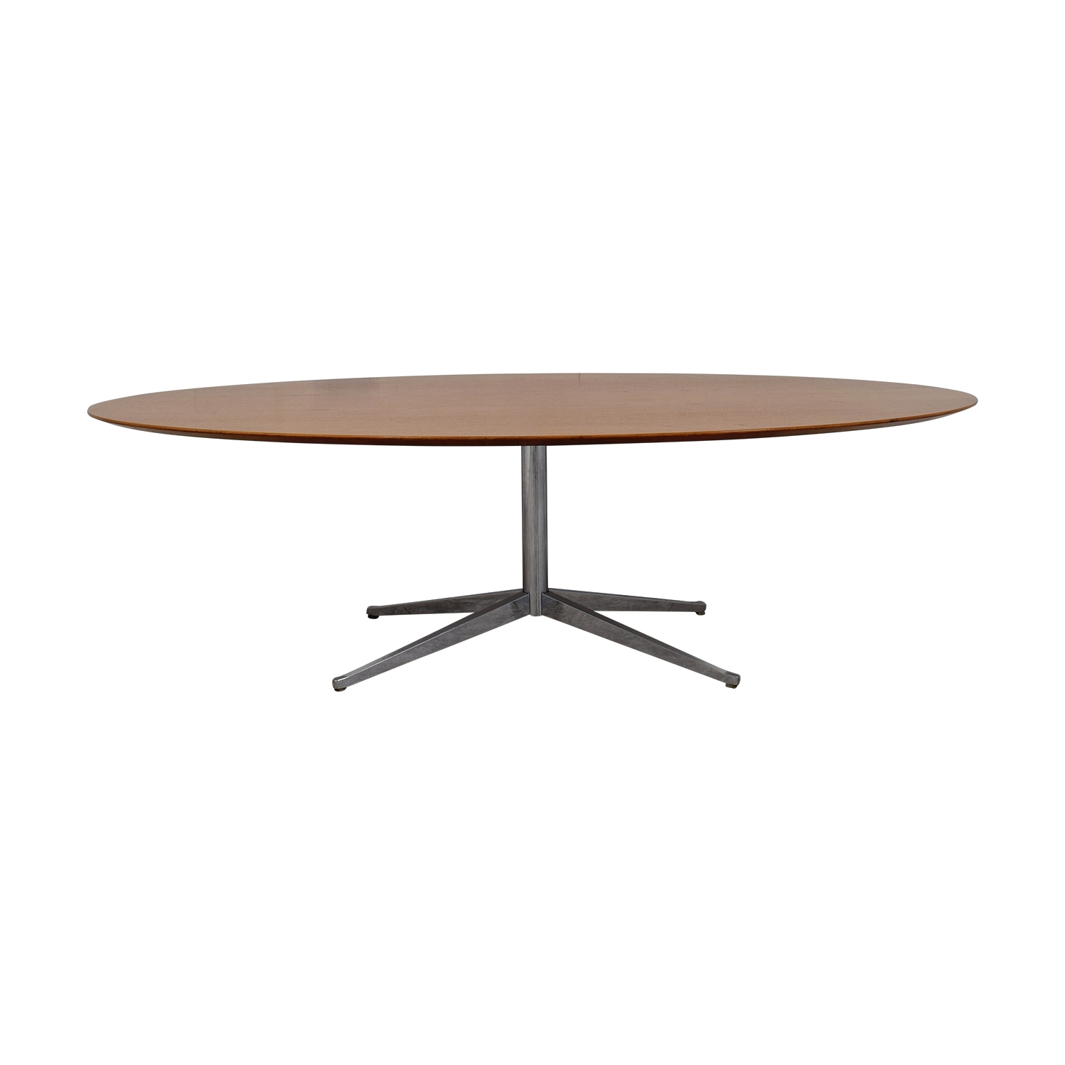 [%71% Off – Knoll Knoll Florence Oval Dining Table / Tables Inside Famous Oval Dining Tables For Sale|Oval Dining Tables For Sale Intended For Well Known 71% Off – Knoll Knoll Florence Oval Dining Table / Tables|Most Current Oval Dining Tables For Sale Inside 71% Off – Knoll Knoll Florence Oval Dining Table / Tables|Widely Used 71% Off – Knoll Knoll Florence Oval Dining Table / Tables Within Oval Dining Tables For Sale%] (View 2 of 25)