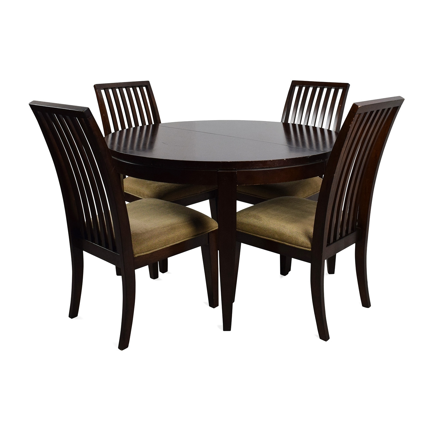 [%75% Off – Macy's Macy's Bradford Extendable Dining Table With 4 Intended For Famous Bradford Dining Tables|Bradford Dining Tables Regarding Famous 75% Off – Macy's Macy's Bradford Extendable Dining Table With 4|Most Current Bradford Dining Tables Within 75% Off – Macy's Macy's Bradford Extendable Dining Table With 4|Recent 75% Off – Macy's Macy's Bradford Extendable Dining Table With 4 Within Bradford Dining Tables%] (View 1 of 25)
