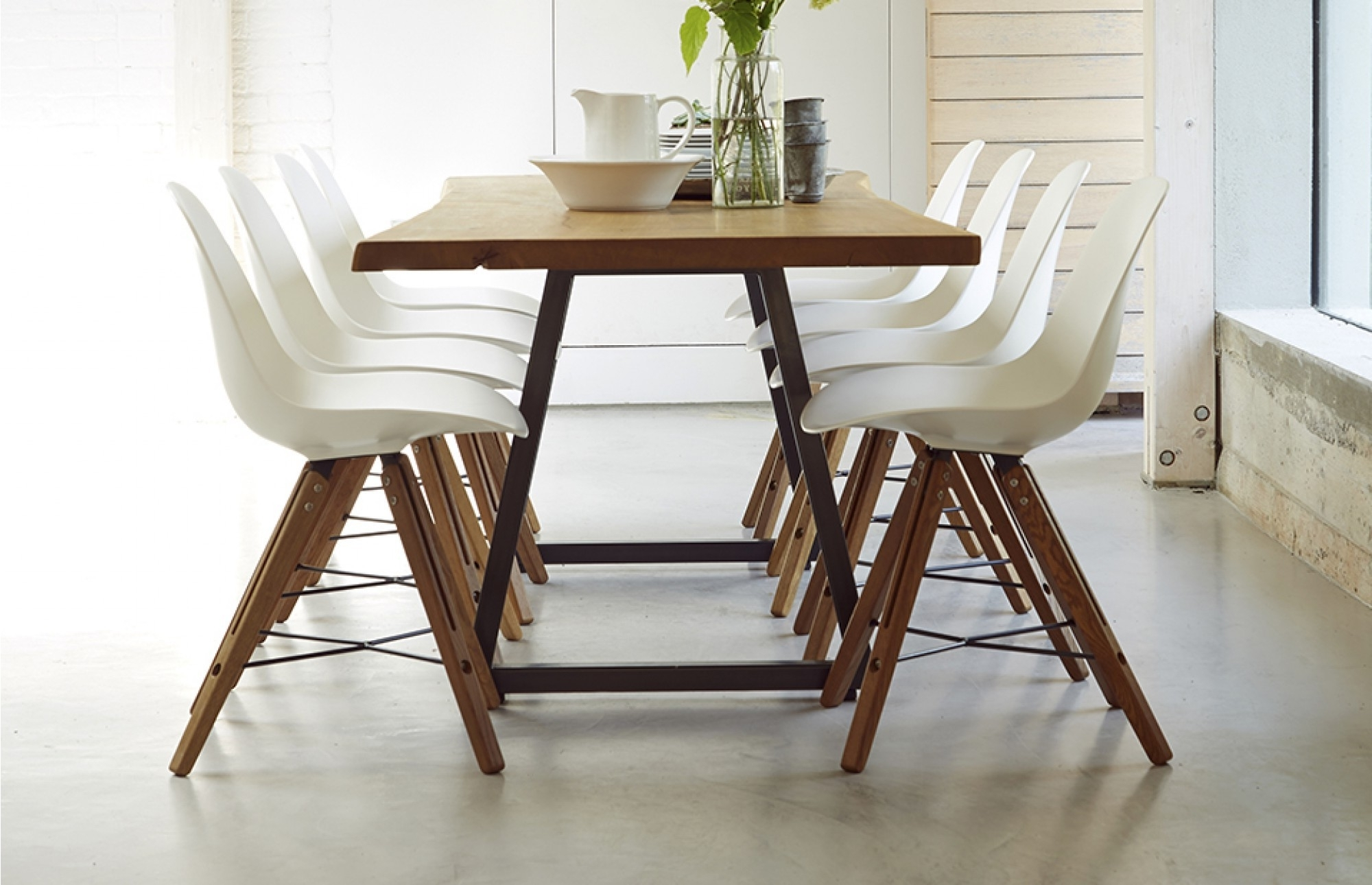 8 Chairs Dining Tables In Famous Dining Table Sets 8 Chairs Elegant Luxury Contemporary Tables And  (View 11 of 25)