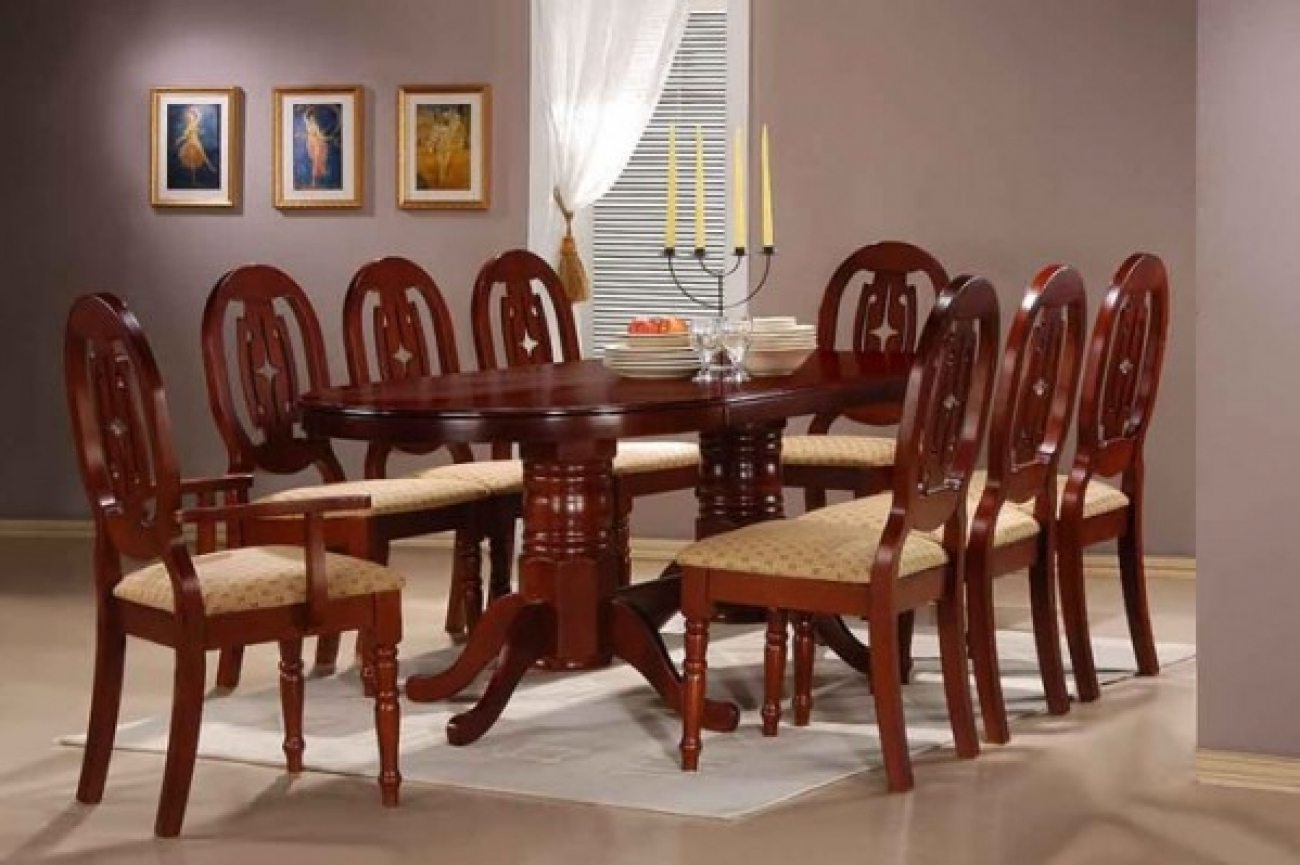 8 Seat Dining Tables inside Well-known Royal Laxmi Furnitures