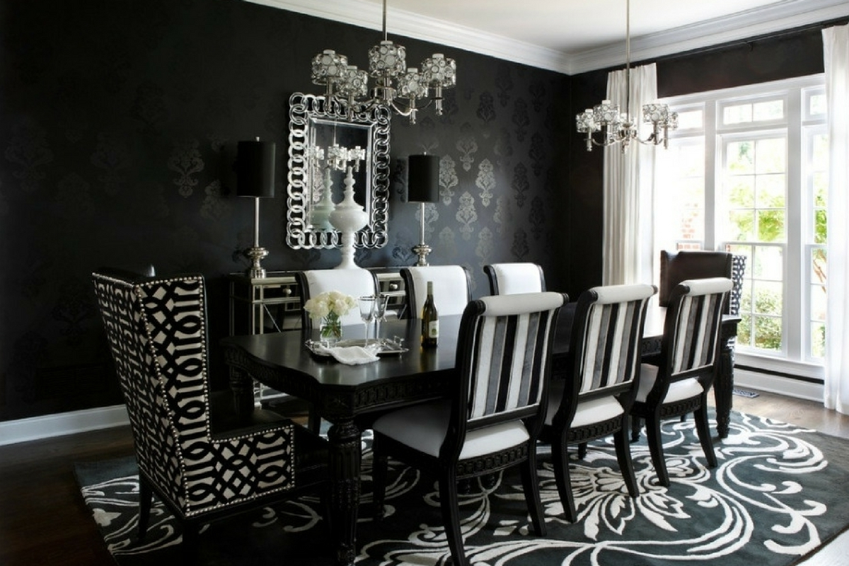 8 Seater Black Dining Tables Throughout Well Liked 8 Seater Dining Table Set (View 6 of 25)