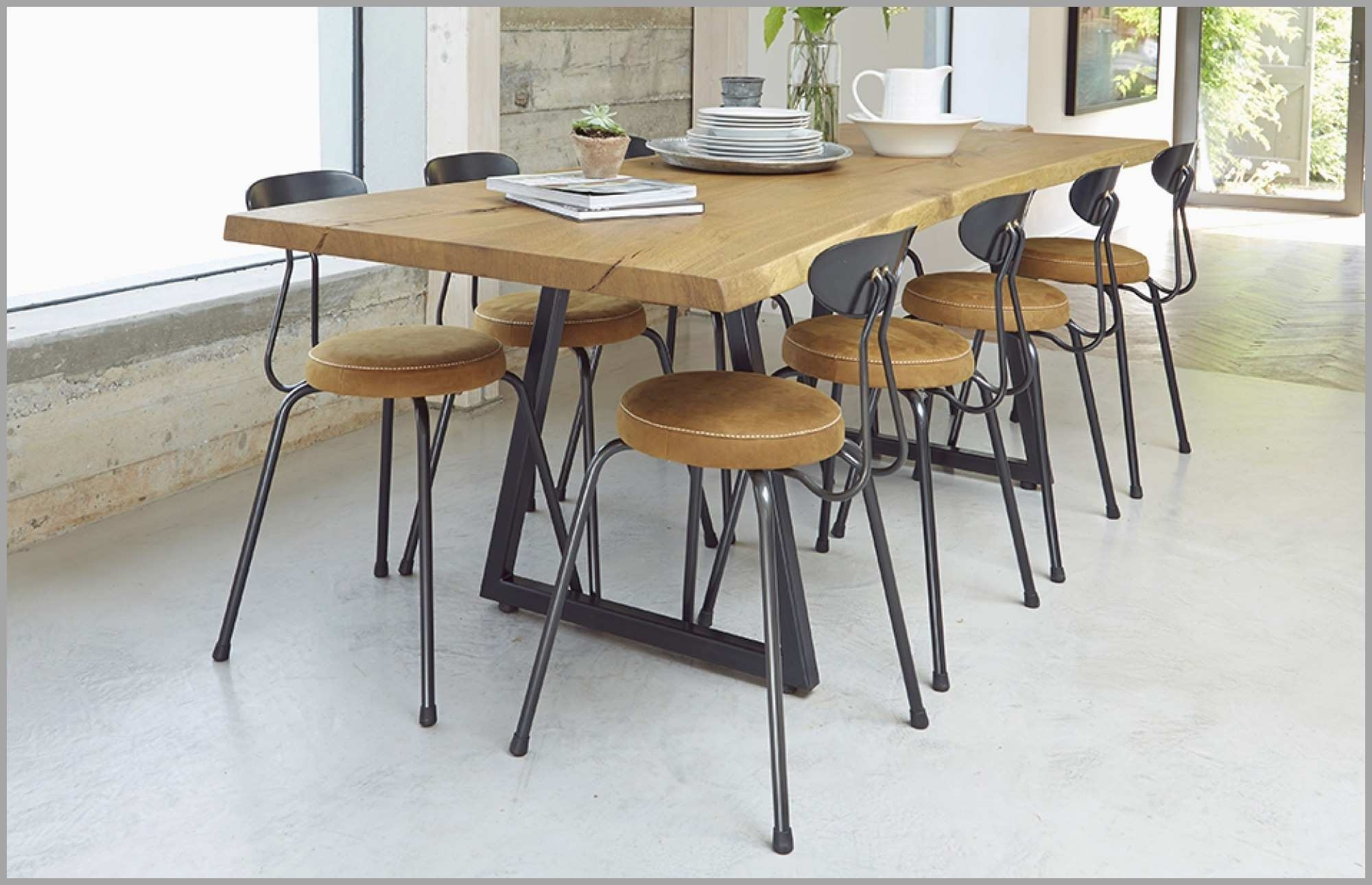 8 Seater Dining Table Sets inside Famous 8 Seater Dining Table Set Inspirational Brown 8 Seater Dining Table