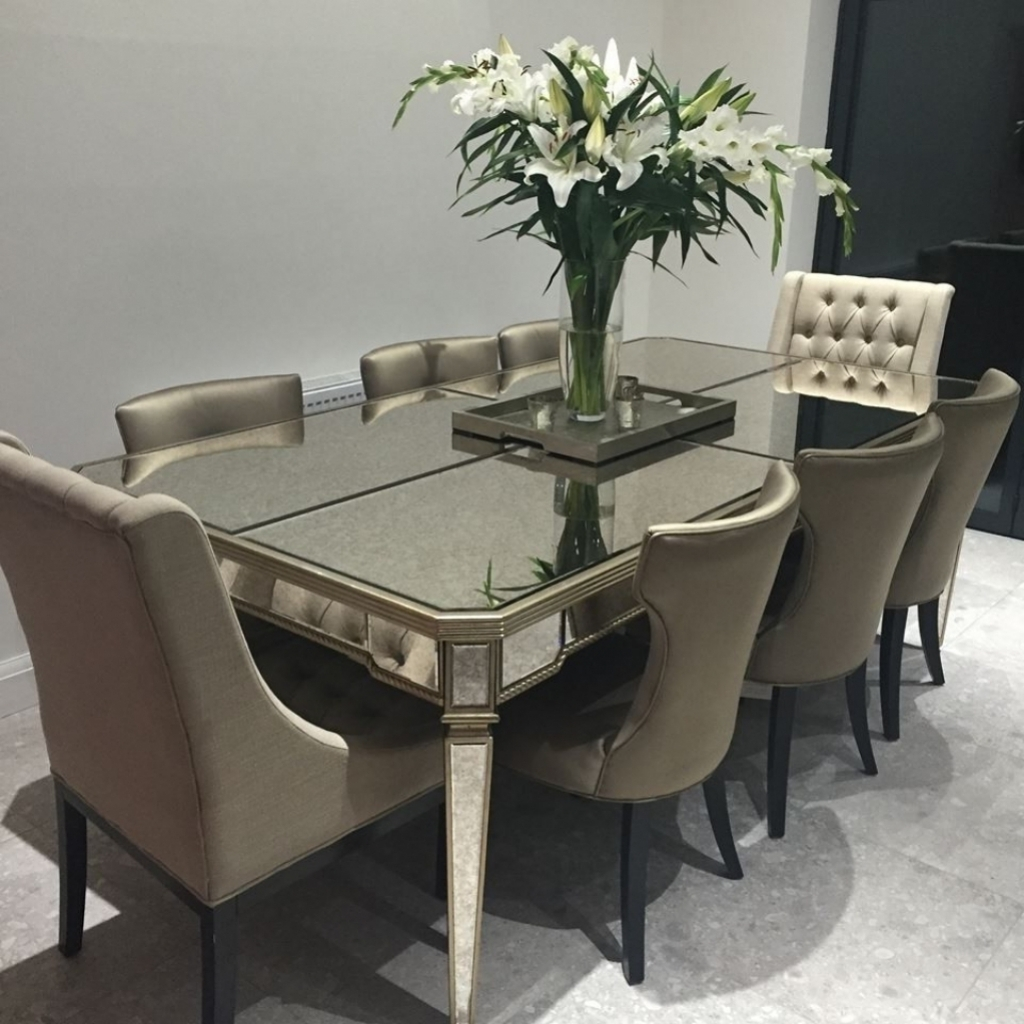 8 Seater Dining Tables And Chairs Pertaining To Well Known Remarkable 8 Seater Dining Table Designs On Seat Set Cozynest Home (Gallery 1 of 25)
