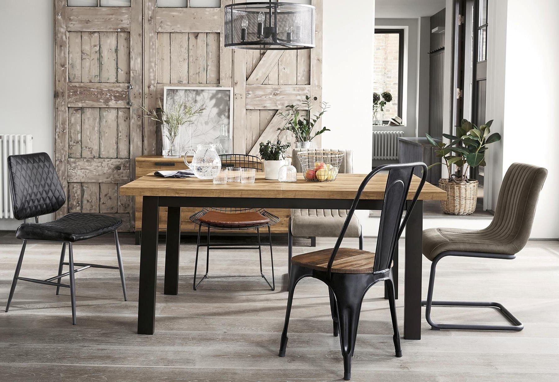 8 Seater Dining Tables And Chairs throughout 2018 Buy Bronx 6-8 Seater Extending Dining Table From The Next Uk Online