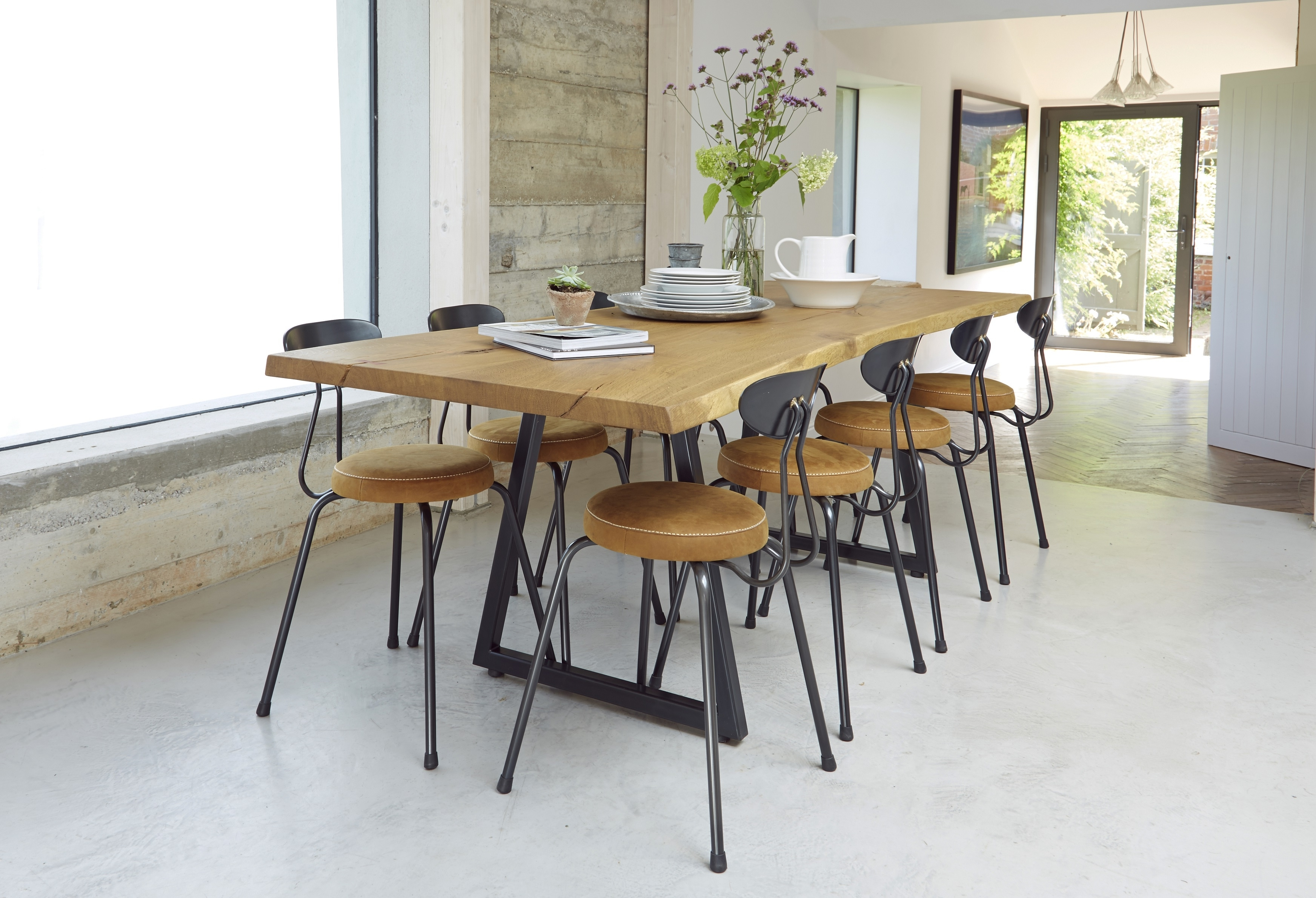 8 Seater Oak Dining Tables in Favorite Dining Room Table : Square Oak Dining Table For 8 Modern Dining