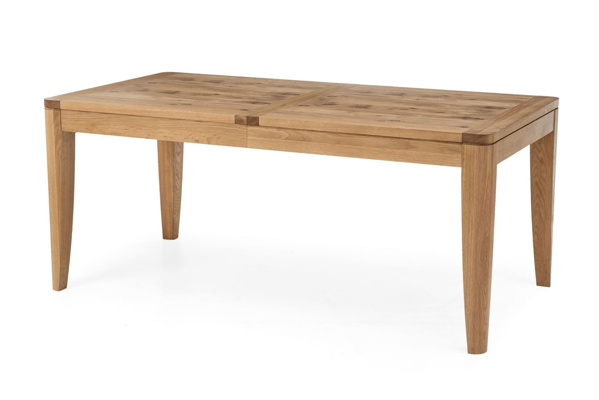 8 Seater Oak Dining Tables in Widely used Pippy Oak Large 6-8 Seater Extending Dining Table
