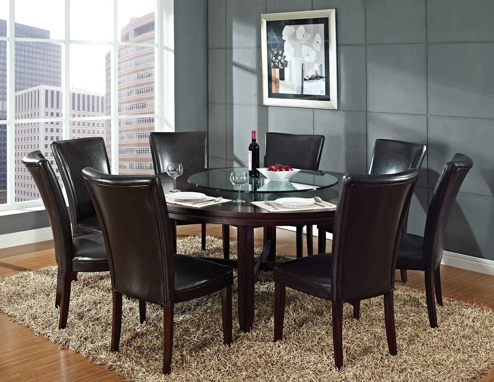 8 Seater Round Dining Table Sets • Table Setting Ideas Pertaining To Well Known 8 Seater Round Dining Table And Chairs (Gallery 11 of 25)