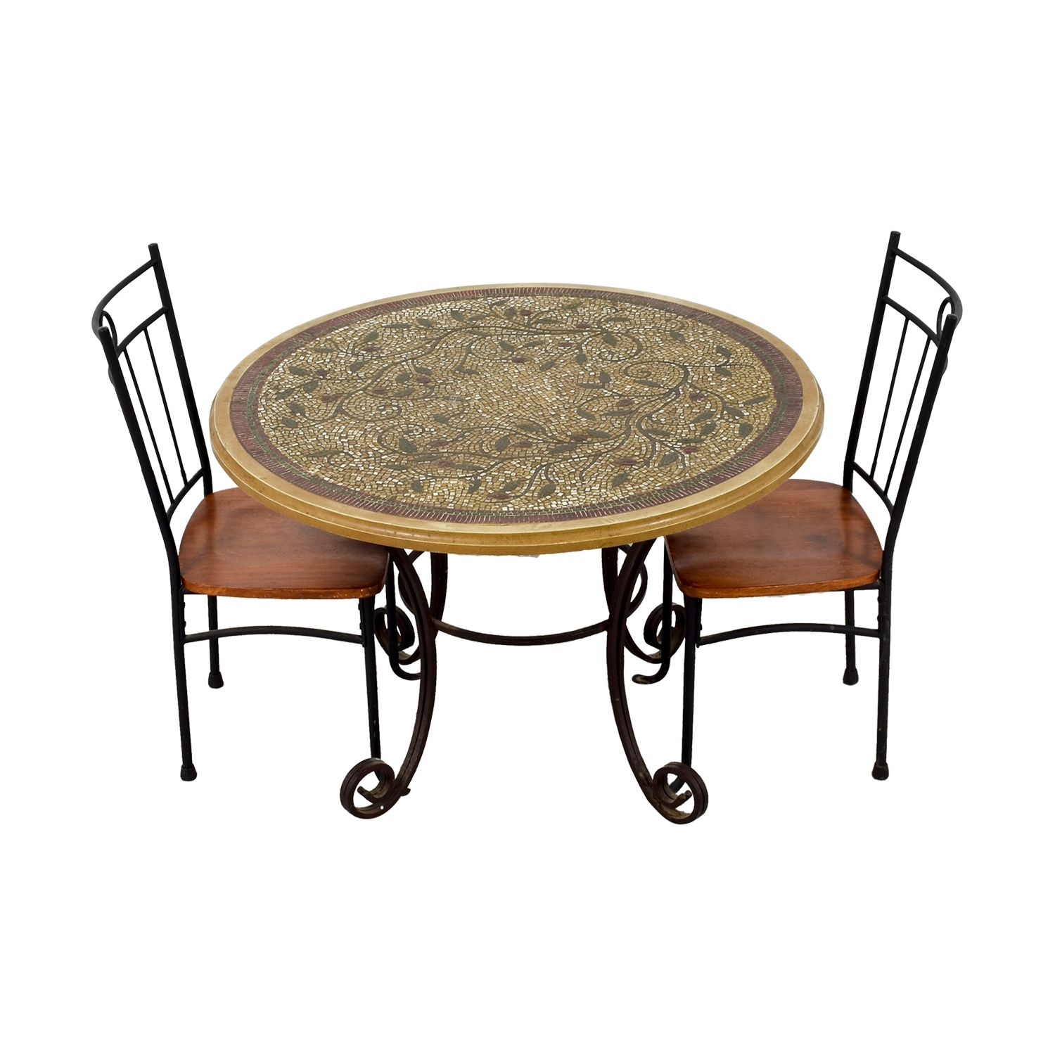 [%81% Off – Mosaic Dining Set / Tables With Well Known Mosaic Dining Tables For Sale|Mosaic Dining Tables For Sale Regarding Popular 81% Off – Mosaic Dining Set / Tables|Well Known Mosaic Dining Tables For Sale Within 81% Off – Mosaic Dining Set / Tables|Most Current 81% Off – Mosaic Dining Set / Tables Pertaining To Mosaic Dining Tables For Sale%] (View 2 of 25)