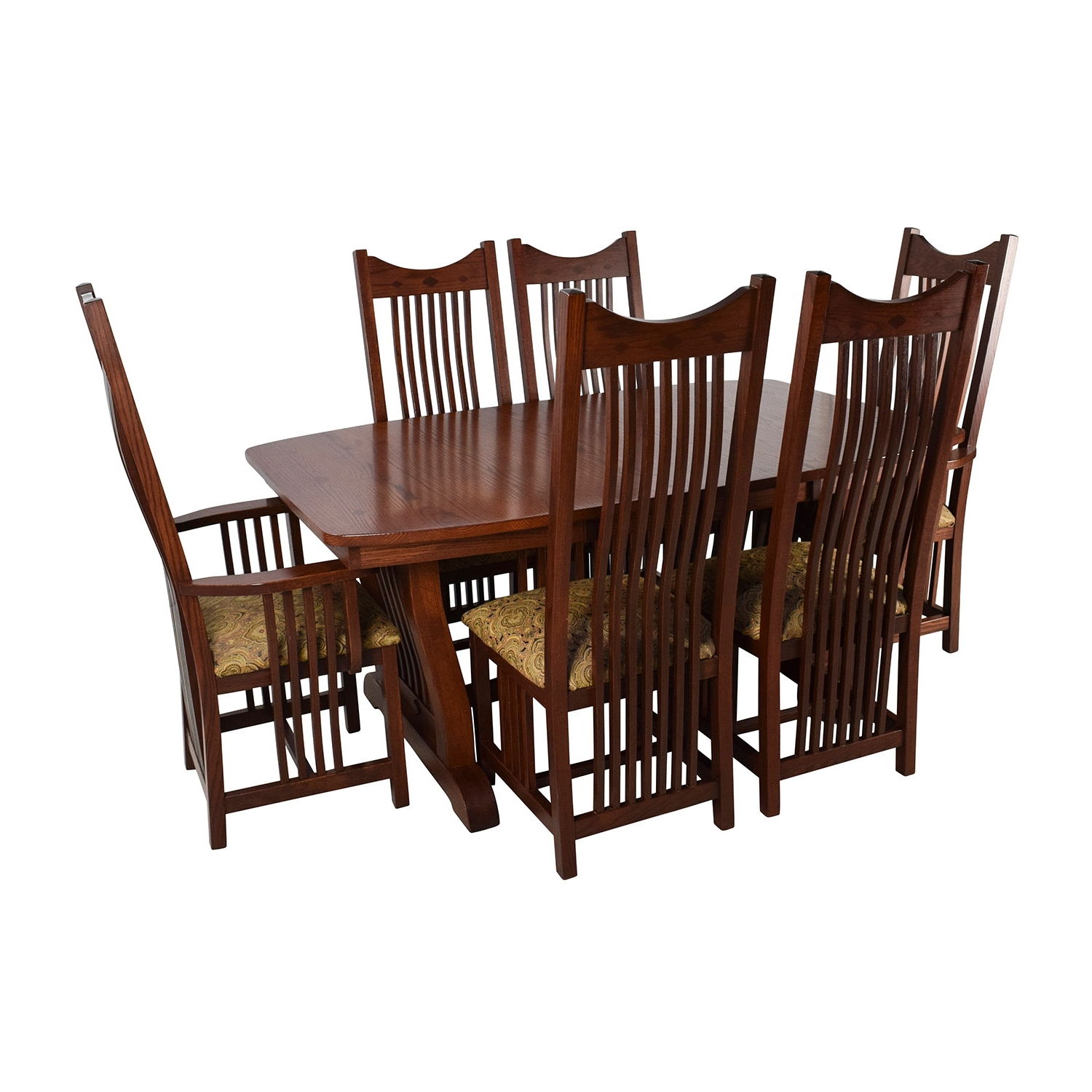 [%82% Off – Homestead Furniture Homestead Furniture Classic Mission With Best And Newest Second Hand Oak Dining Chairs Second Hand Oak Dining Chairs Throughout Famous 82% Off – Homestead Furniture Homestead Furniture Classic Mission Trendy Second Hand Oak Dining Chairs Inside 82% Off – Homestead Furniture Homestead Furniture Classic Mission Favorite 82% Off – Homestead Furniture Homestead Furniture Classic Mission Throughout Second Hand Oak Dining Chairs%] (View 23 of 25)