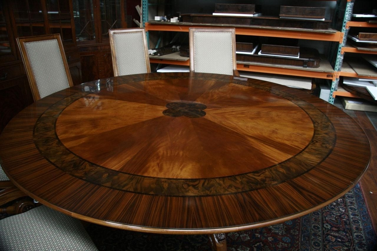 84 throughout Well-liked Huge Round Dining Tables