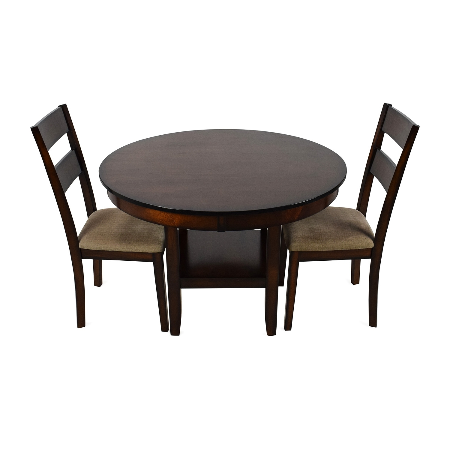 [%85% Off – Macy's Macy's Branton 3 Piece Dining Room Collection / Tables For Most Popular Macie 5 Piece Round Dining Sets|Macie 5 Piece Round Dining Sets In Current 85% Off – Macy's Macy's Branton 3 Piece Dining Room Collection / Tables|Most Recent Macie 5 Piece Round Dining Sets With Regard To 85% Off – Macy's Macy's Branton 3 Piece Dining Room Collection / Tables|Well Liked 85% Off – Macy's Macy's Branton 3 Piece Dining Room Collection / Tables Within Macie 5 Piece Round Dining Sets%] (View 17 of 25)