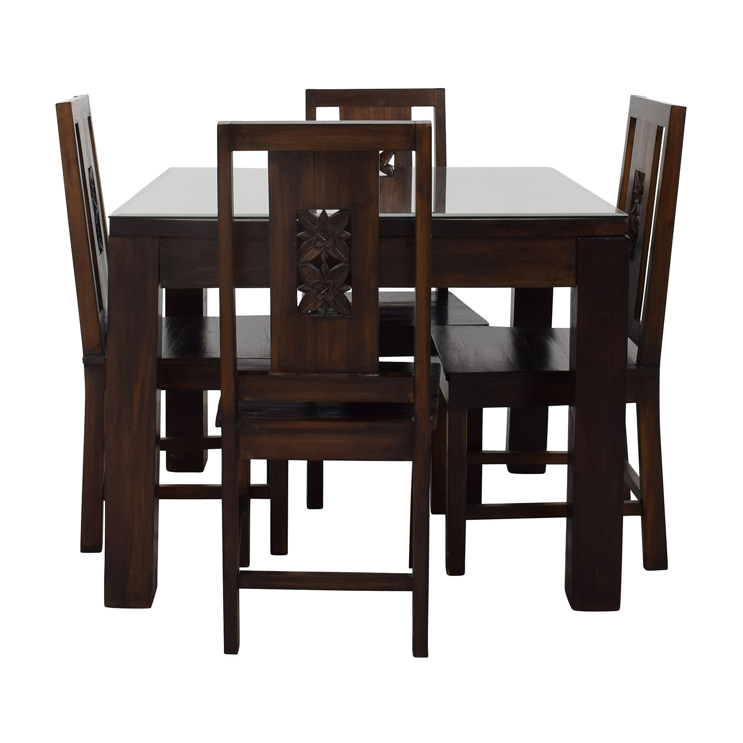 [%90% Off – Balinese Teak Dining Table Set / Tables Regarding Popular Balinese Dining Tables|Balinese Dining Tables With Regard To Best And Newest 90% Off – Balinese Teak Dining Table Set / Tables|Most Current Balinese Dining Tables Within 90% Off – Balinese Teak Dining Table Set / Tables|Favorite 90% Off – Balinese Teak Dining Table Set / Tables Pertaining To Balinese Dining Tables%] (View 5 of 25)