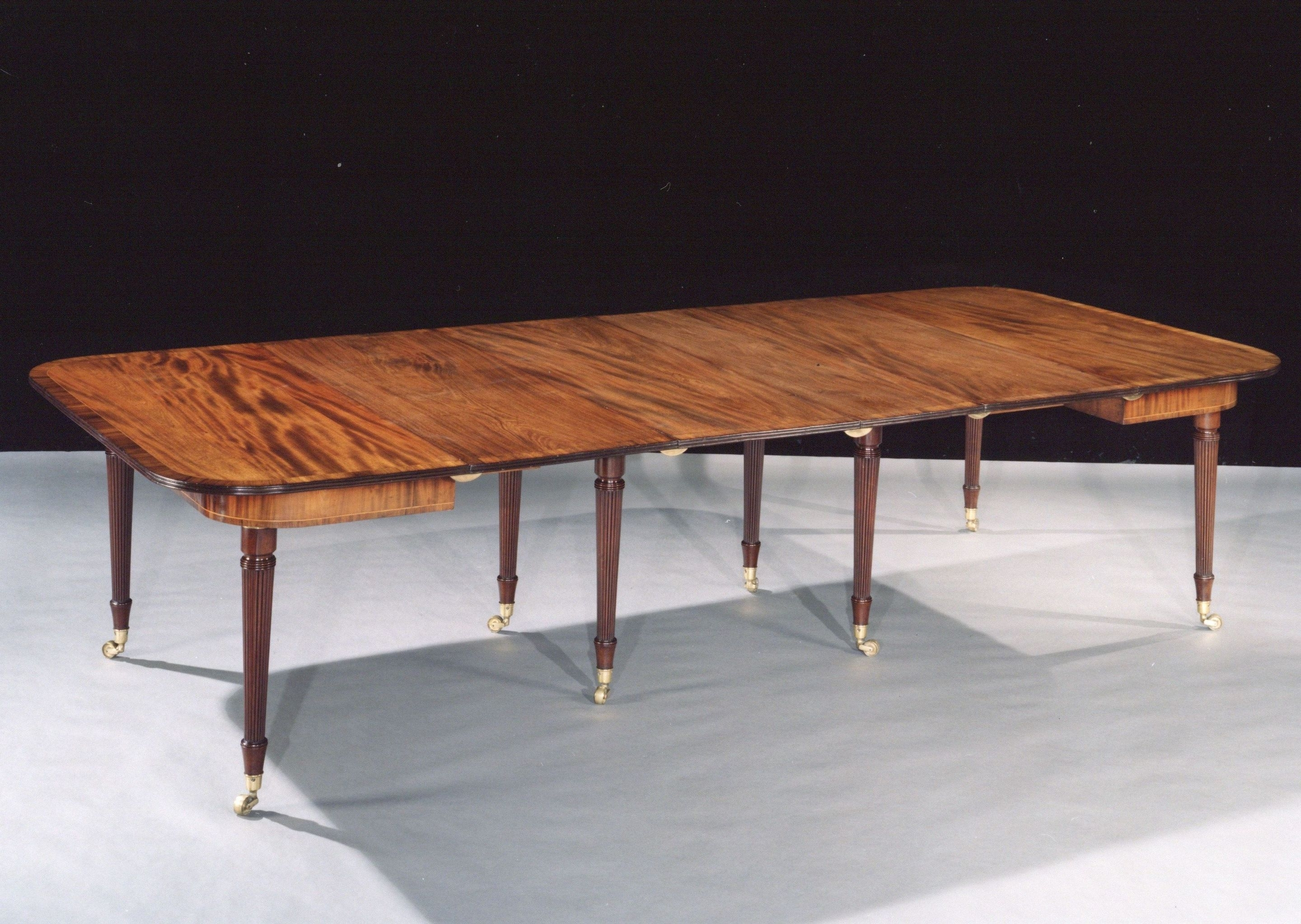 A George Iii Mahogany 'imperial Dining Table' Attributed To Gillows Within Most Recent Imperial Dining Tables (View 2 of 25)